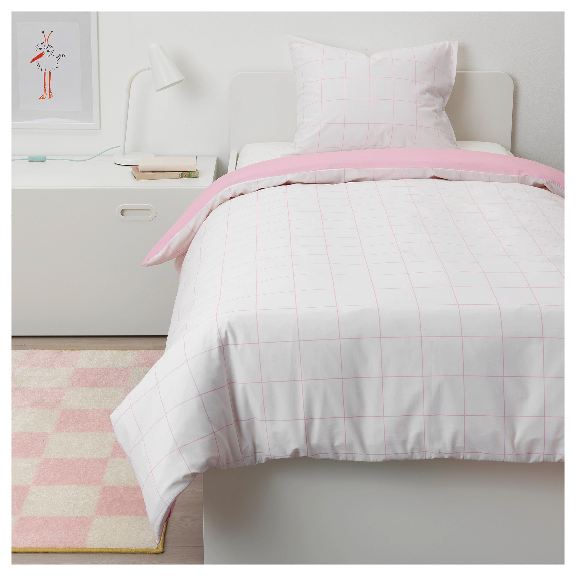 Pink Duvet Cover MÖjlighet Duvet Cover And Pillowcase S Pink Graphical Patterned