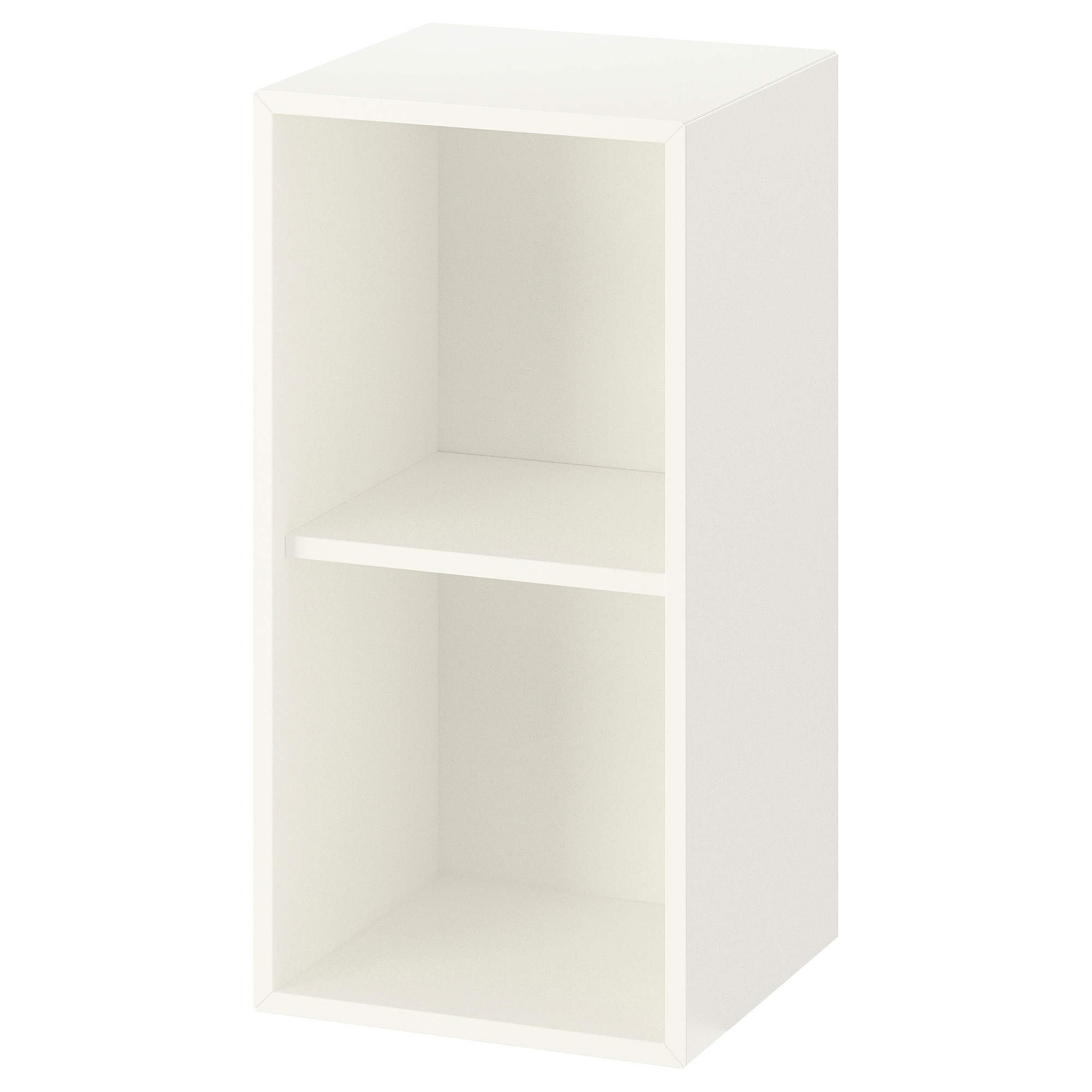Meubles Cases Ikea Eket Cabinet With 2 Compartments White