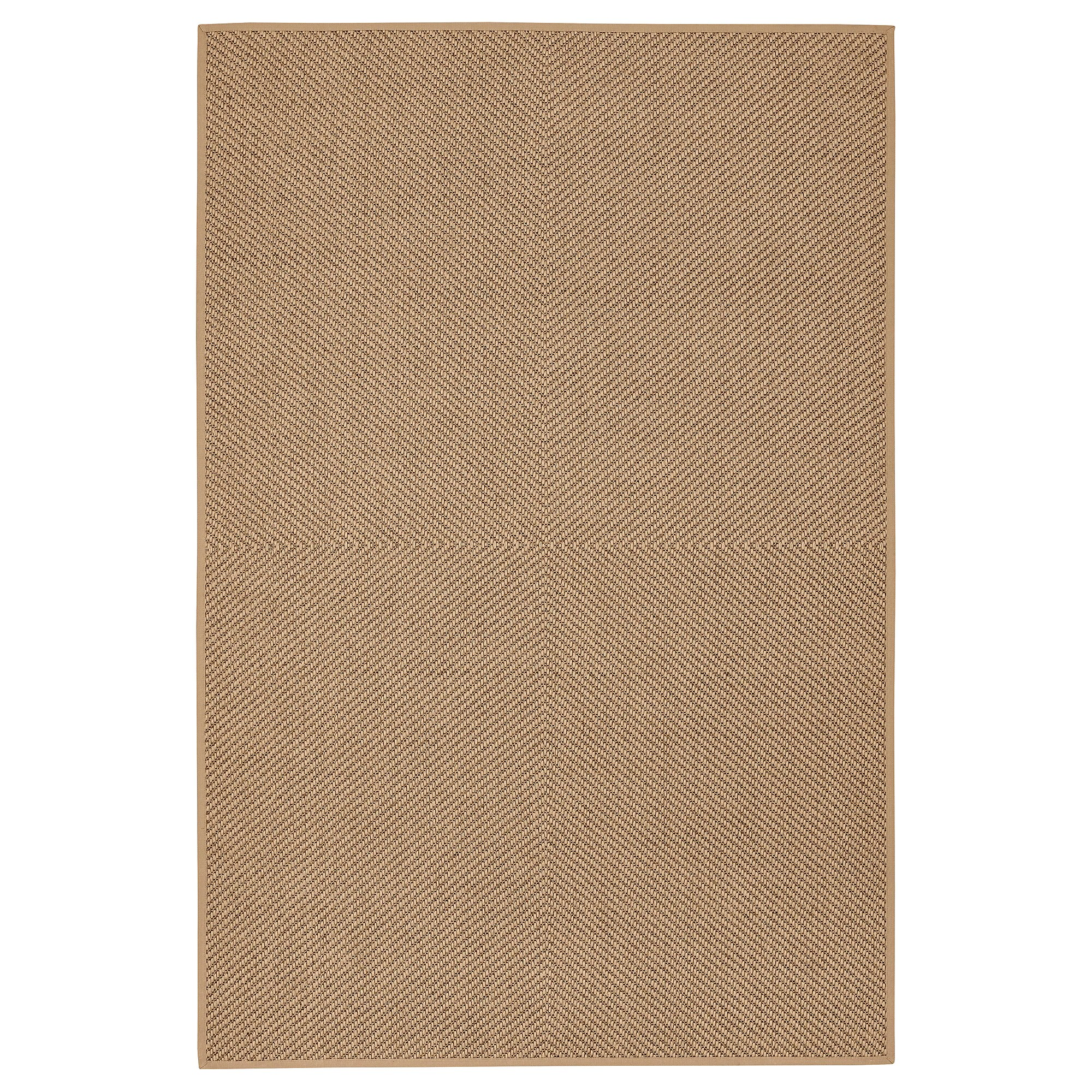 Hessian Rugs Rug Flatwoven Hellested Natural Brown