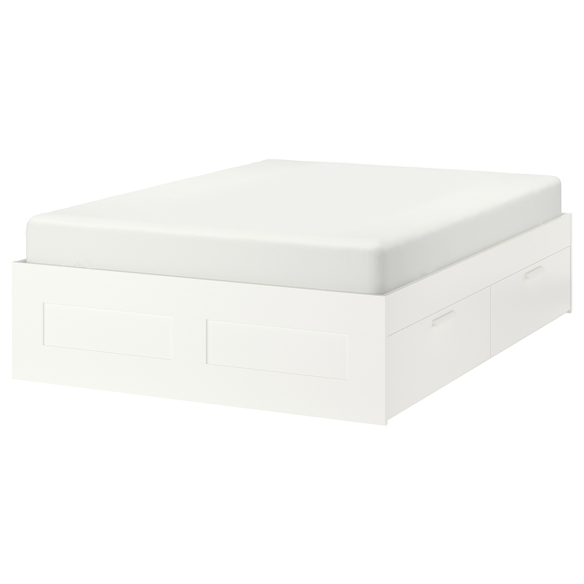 Ikea Brimnes Bett 120x200 Brimnes Bed Frame With Storage White