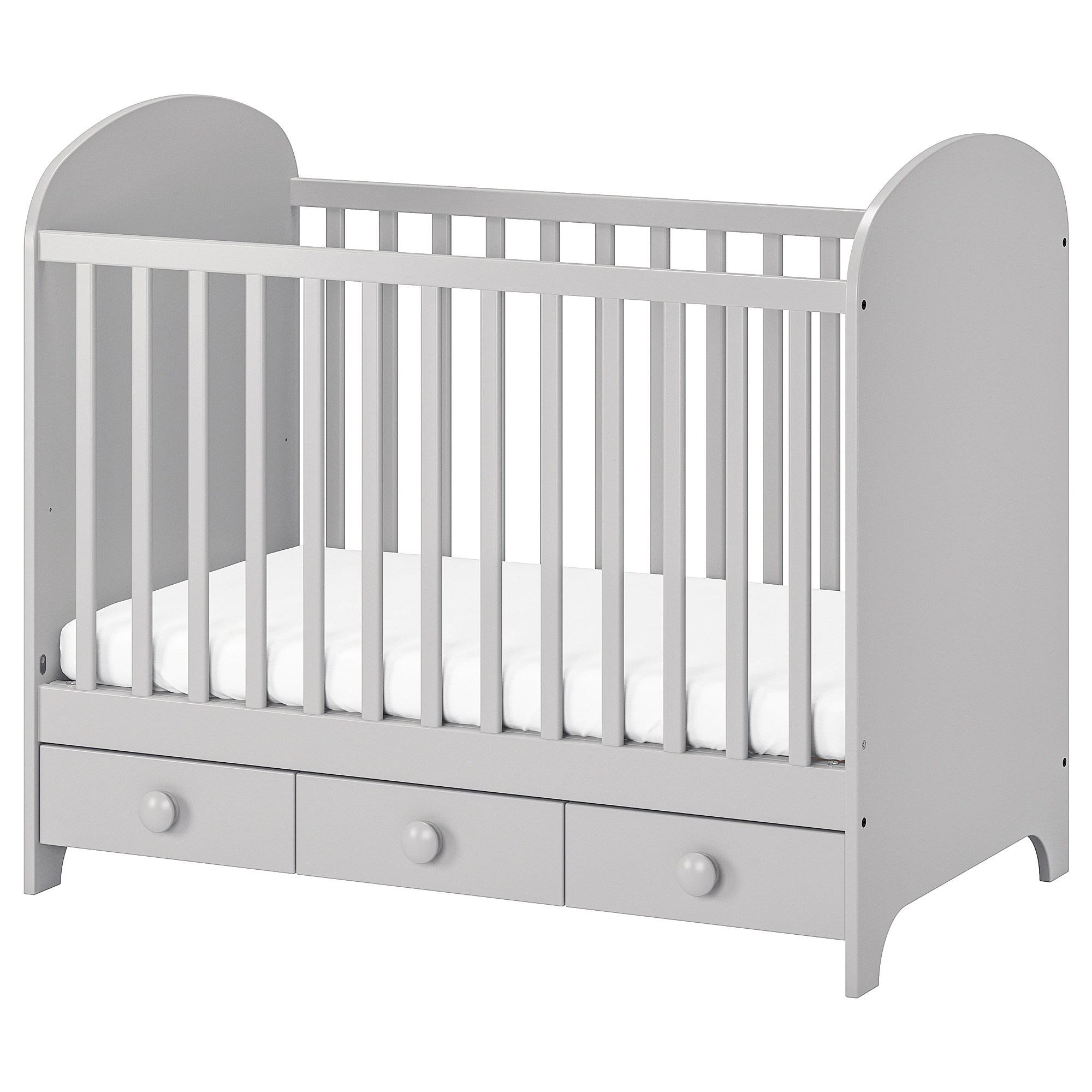 Ikea Grenoble Catalogue Cot Gonatt Light Grey