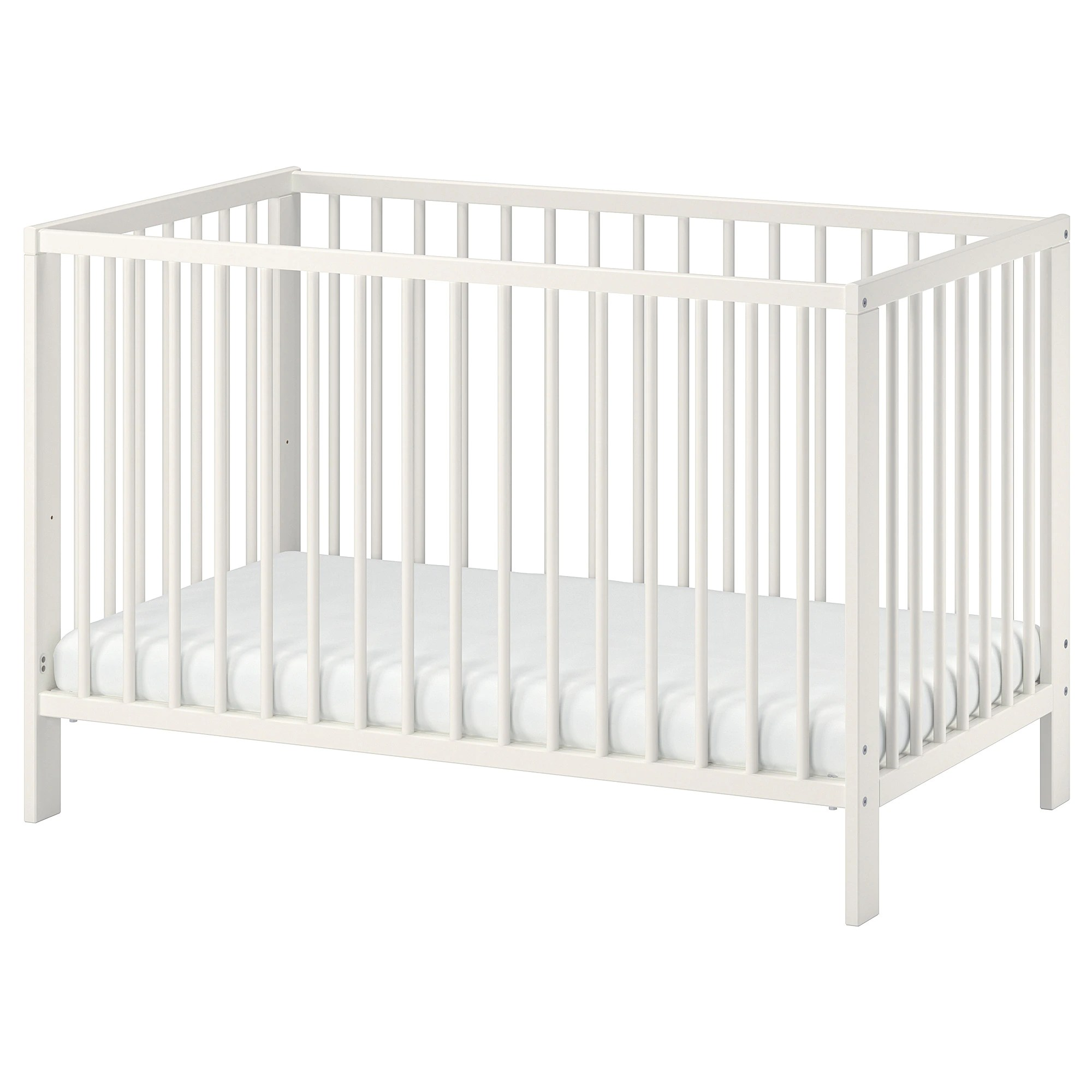Peuterbed Ikea Gulliver Babybedje Wit