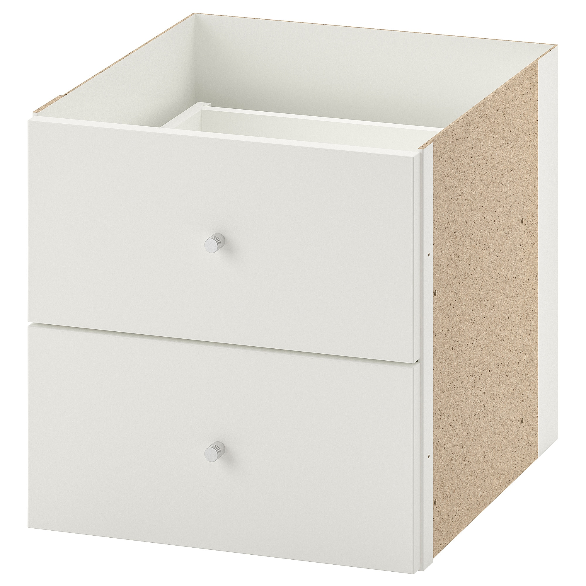 Ikea Expedit Youtube Kallax Insert With 2 Drawers White
