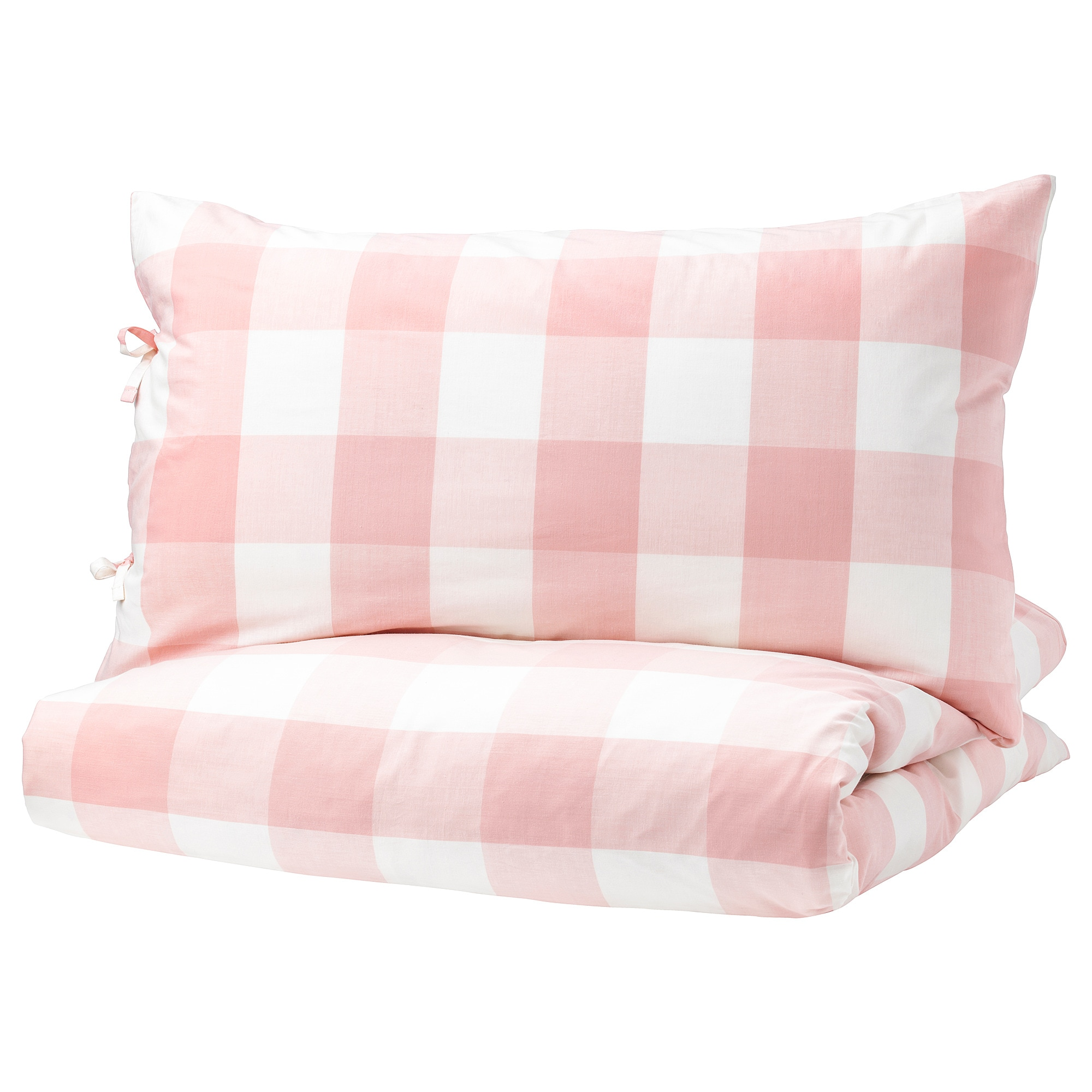 Ikea Duvet Covers Emmie Ruta Duvet Cover And Pillowcase S Light Pink White