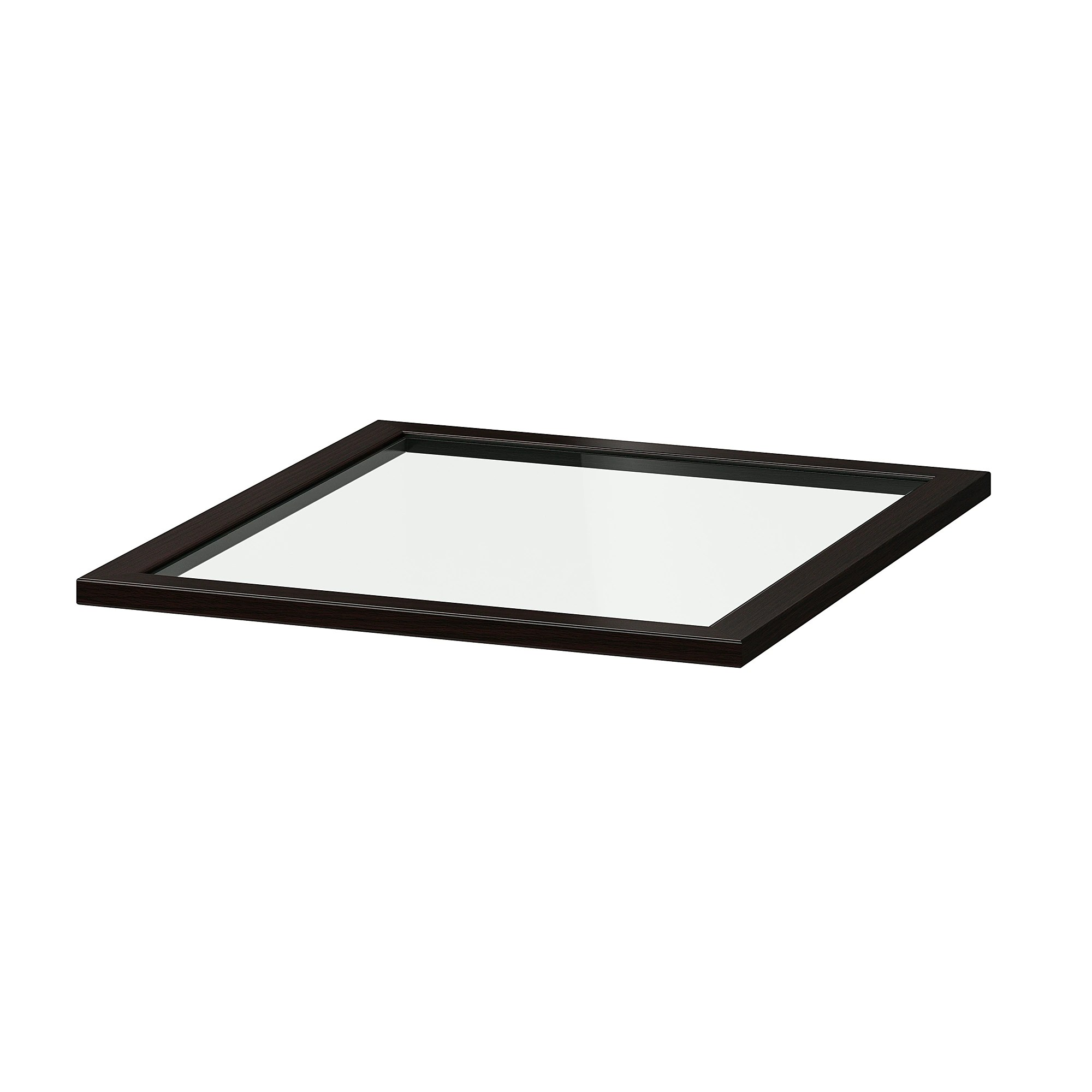 Ikea Pax Click And Collect Glass Shelf Komplement Black Brown