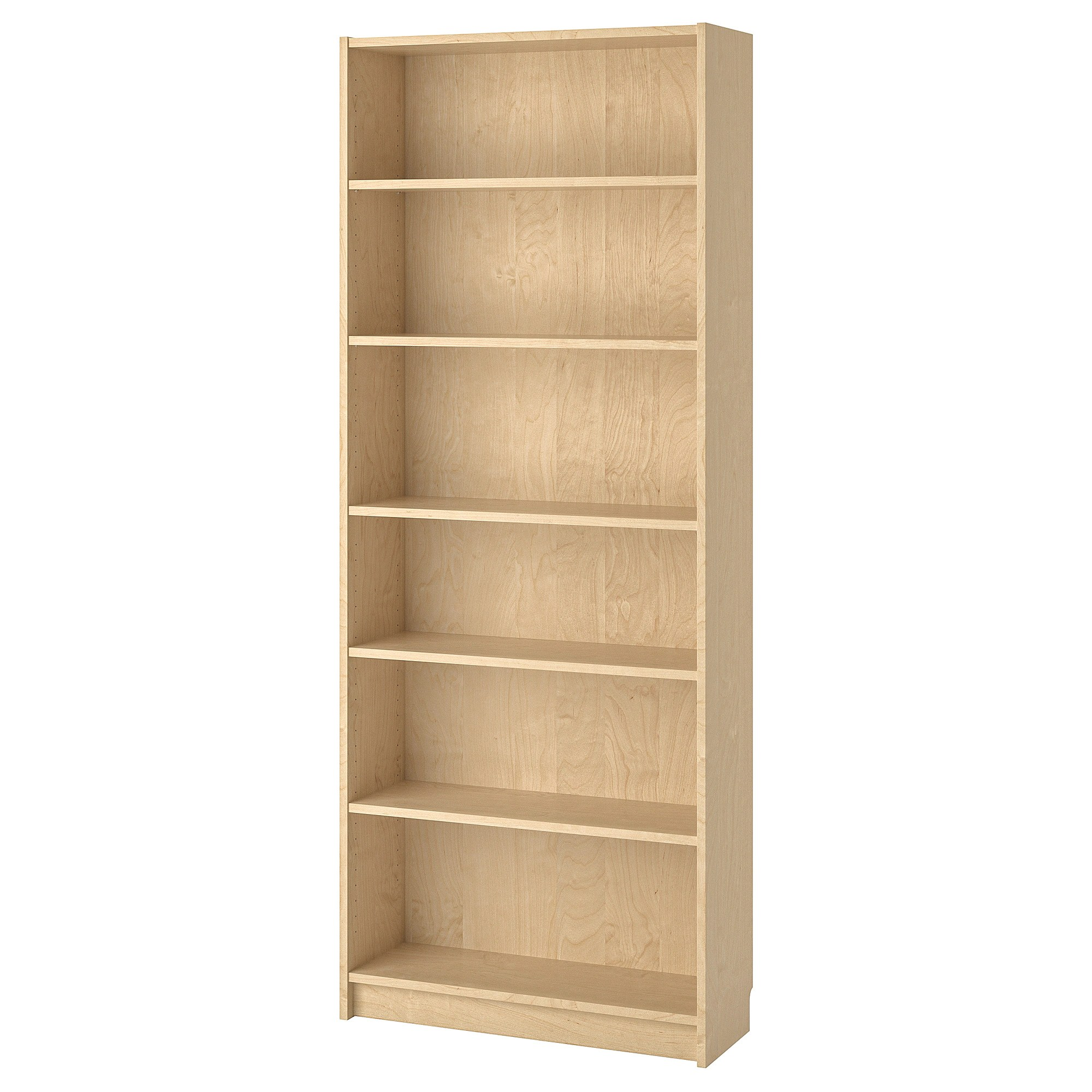 Ikea Küche Regal Holz Bücherregal Billy Birkenfurnier