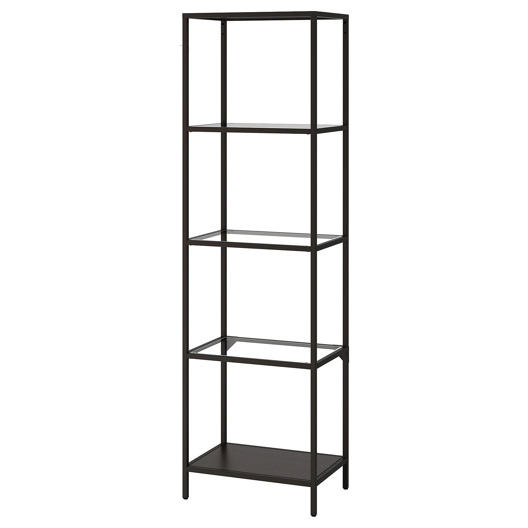 Etagere Rose Ikea VittsjÖ Shelf Unit White Glass