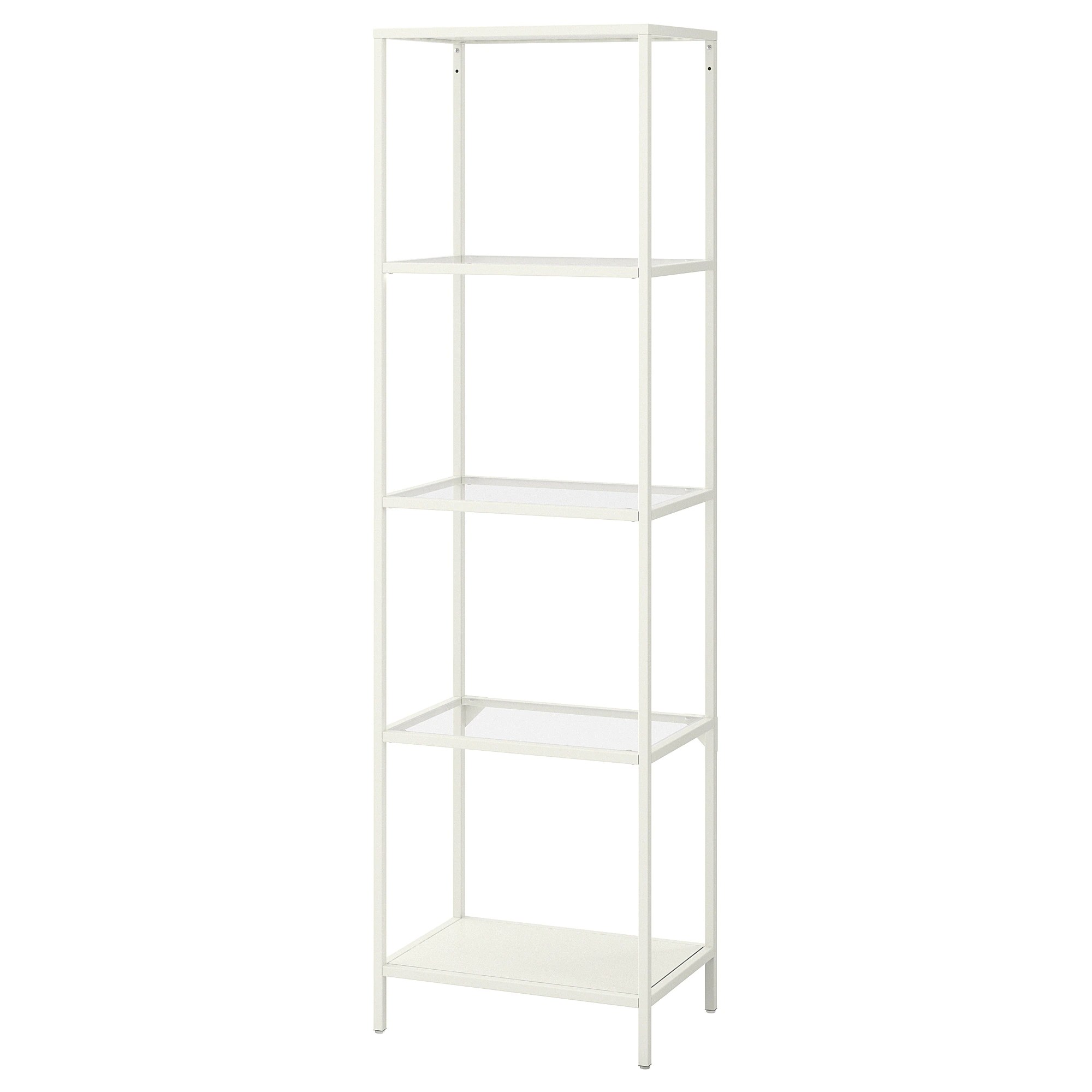 Etagere Besta Ikea VittsjÖ Shelf Unit Black Brown Glass