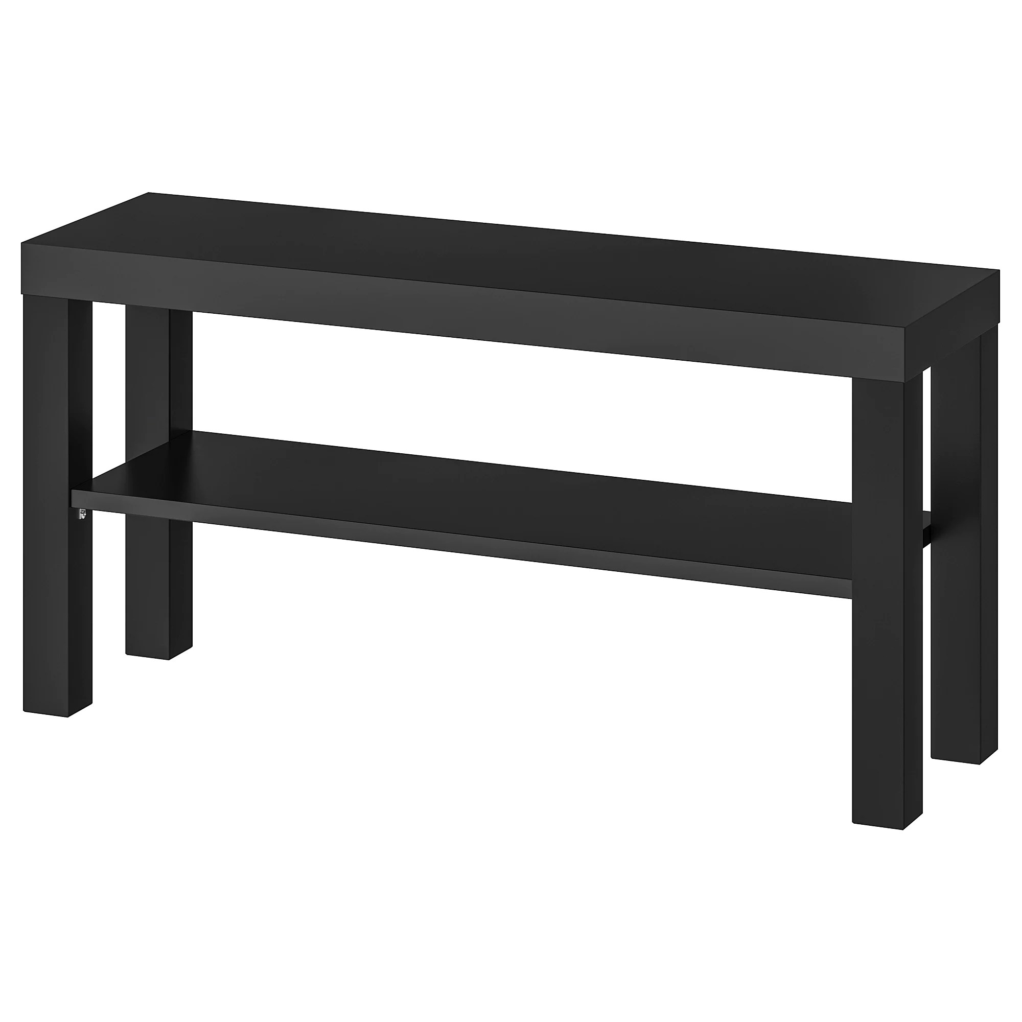 Black Bench Lack Tv Unit Black