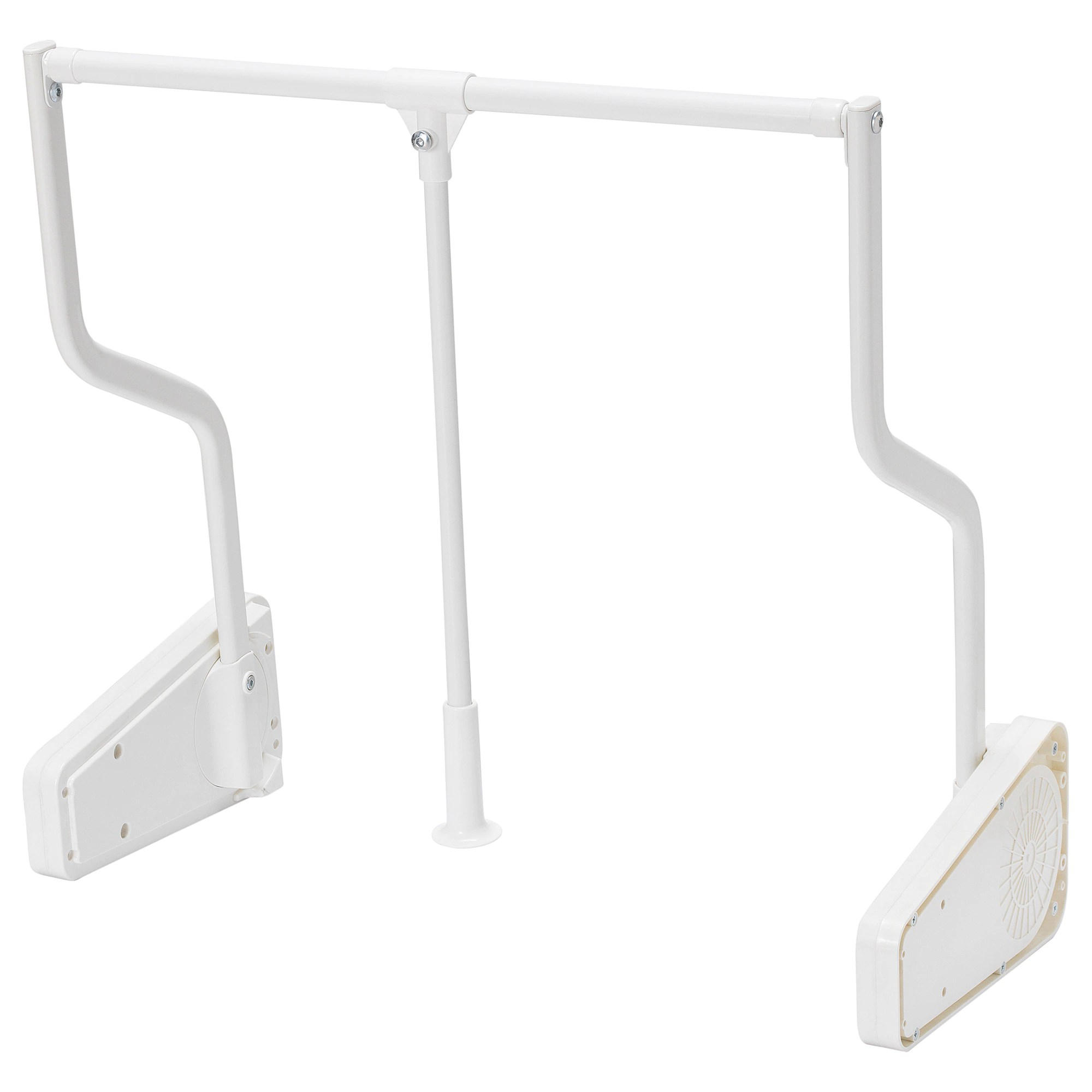 Penderie Plastique Ikea Tringle Habits Rabattable Ext Komplement Blanc