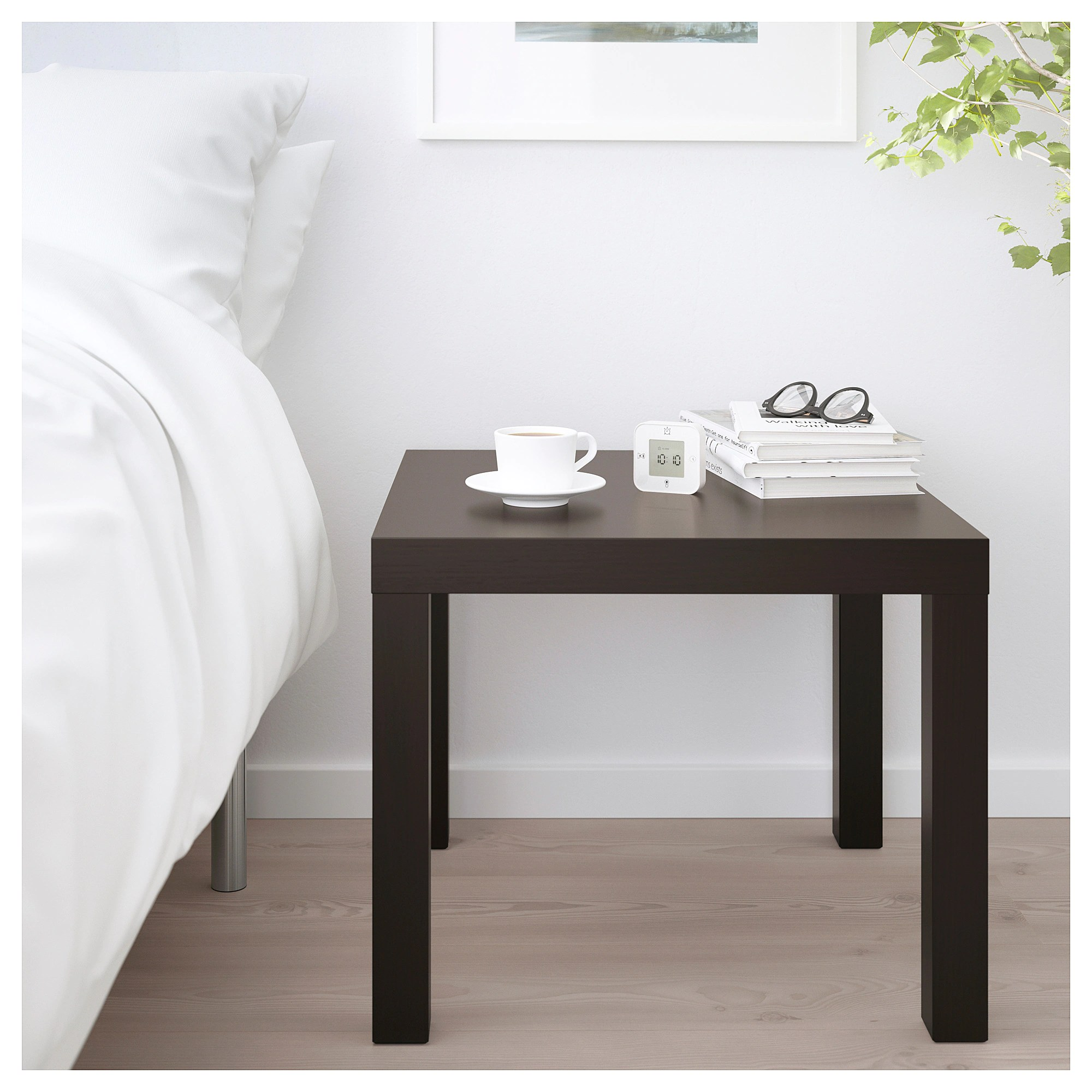 Ikea Table Lack Side Table Black Brown