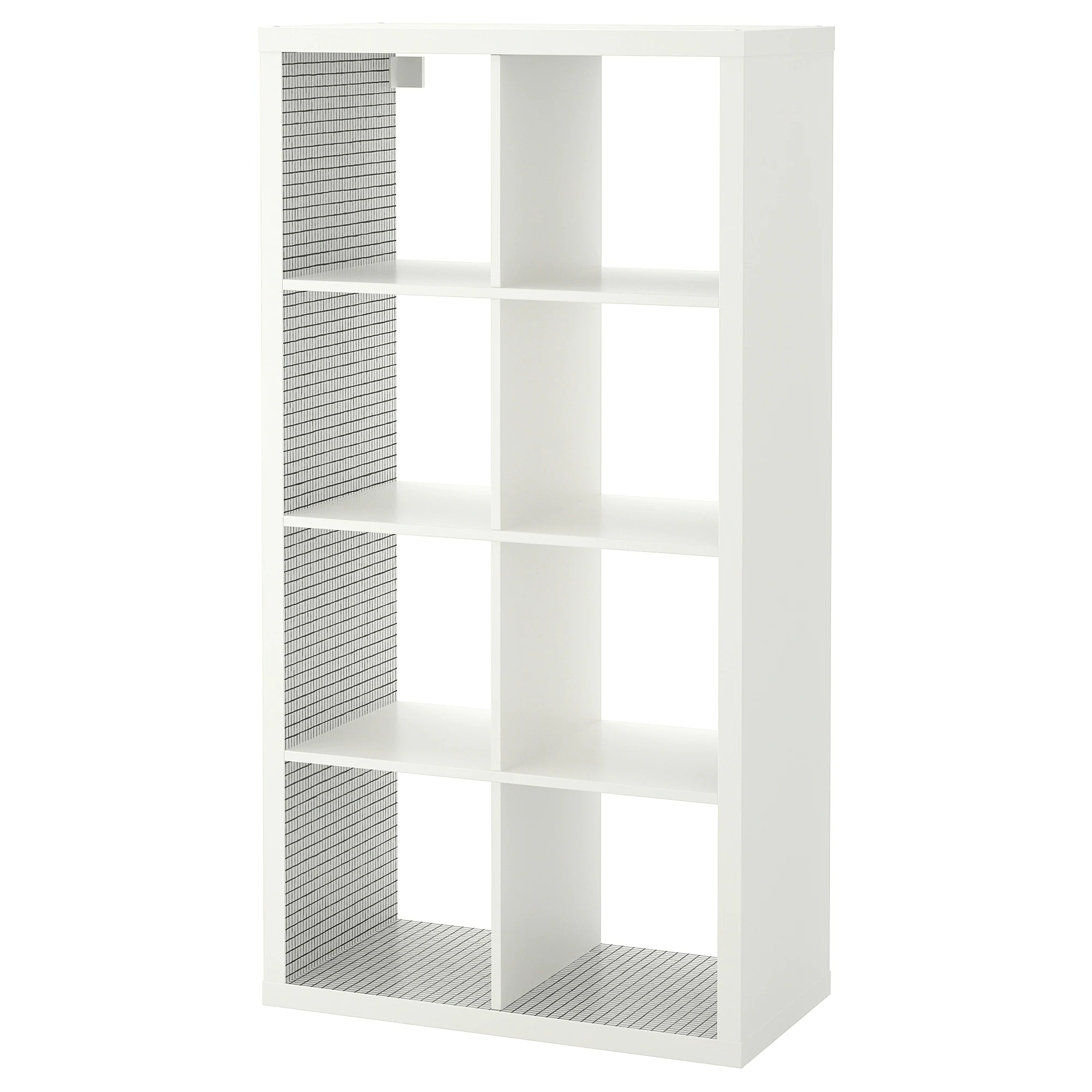 Ikea Kallax Weiß Shelf Unit Kallax White Check Pattern