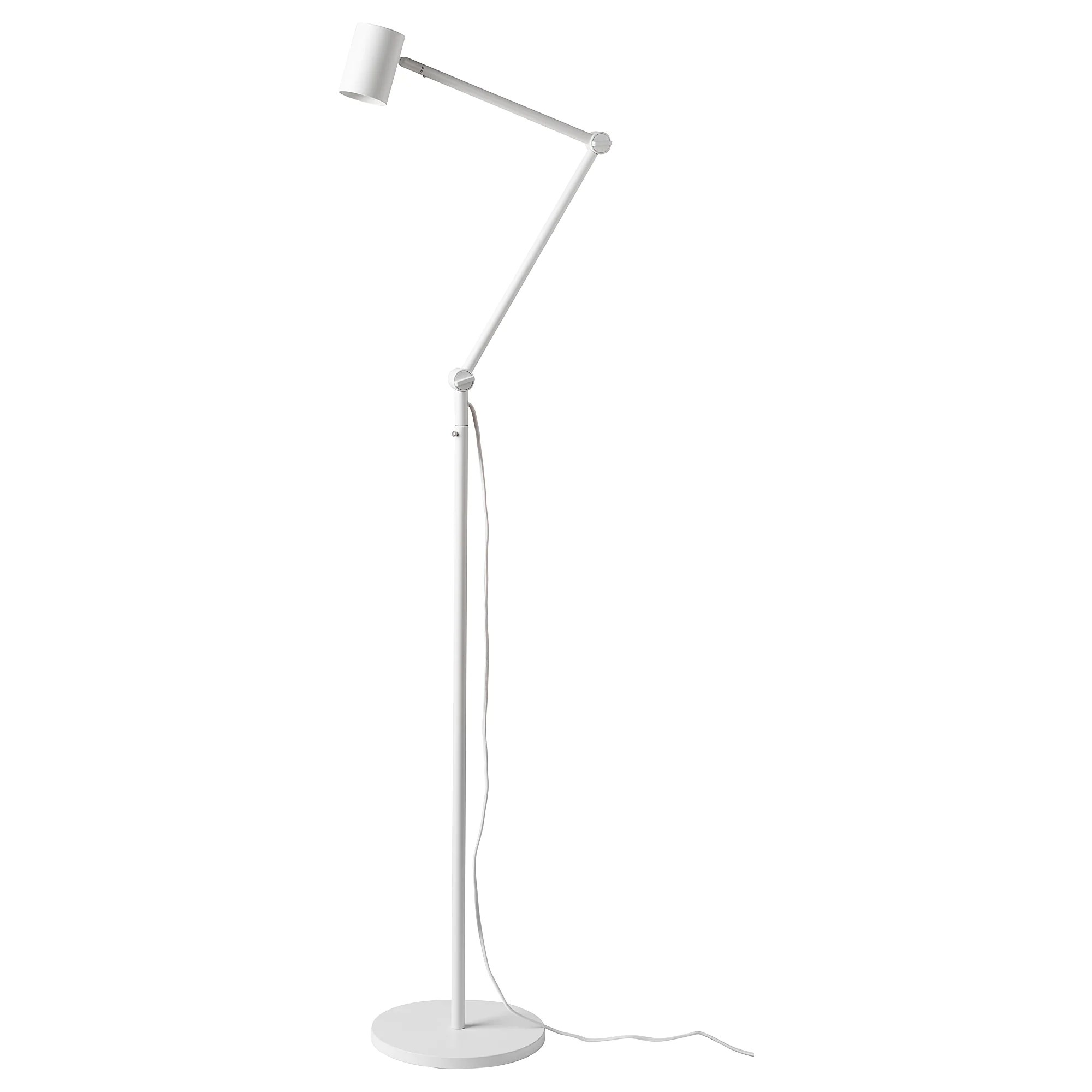 Ikea Reading Lamp NymÅne Floor Reading Lamp White