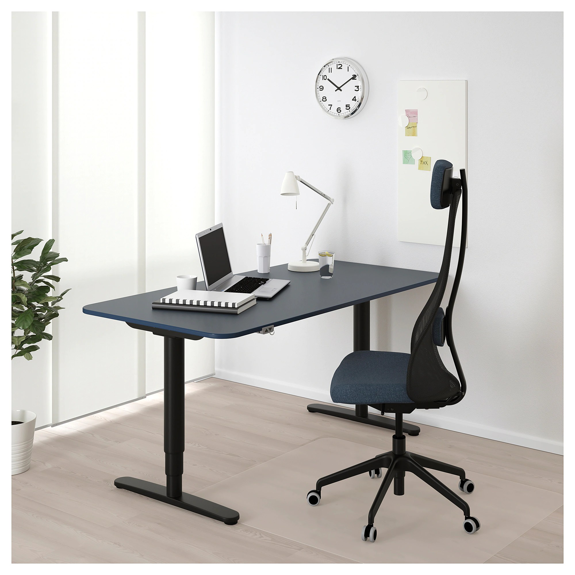 Stand Up Desk Ikea Bekant Desk Sit Stand White