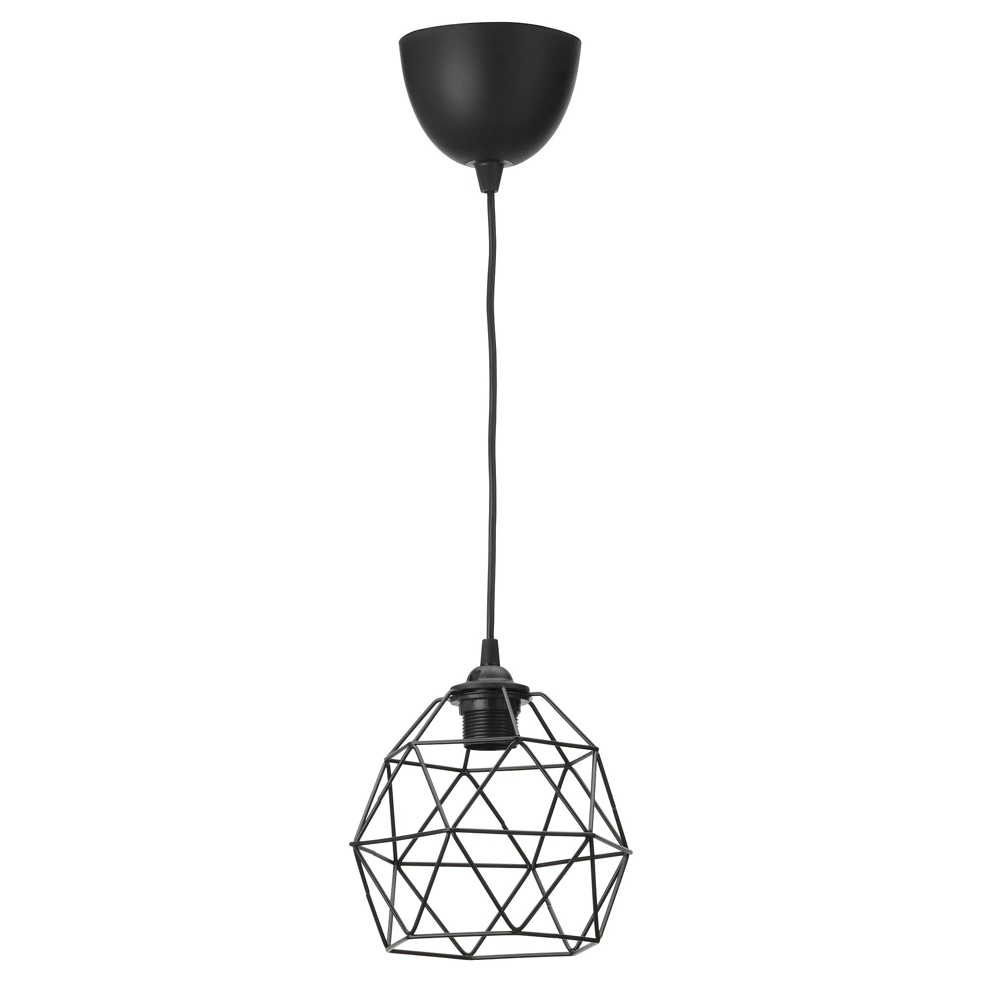 Suspension Ikea Cuivre Suspension Brunsta Hemma Noir
