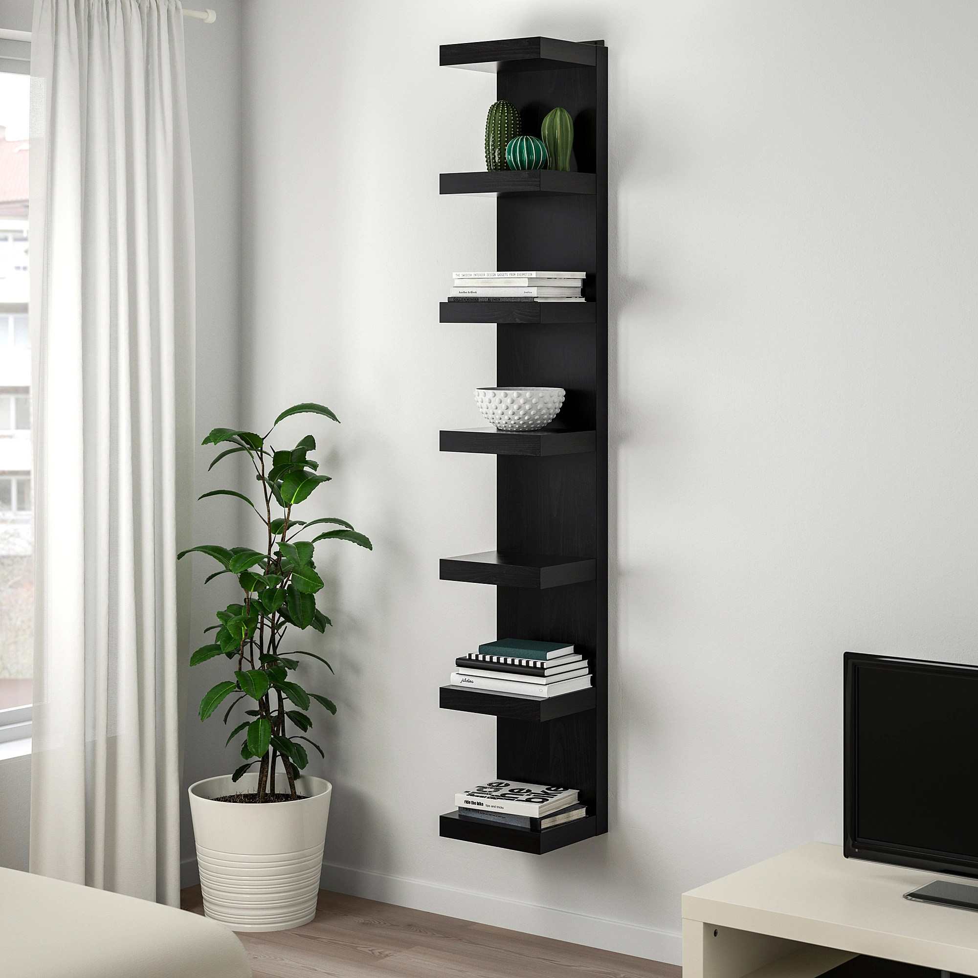 Wall Shelf Design Lack Wall Shelf Unit White