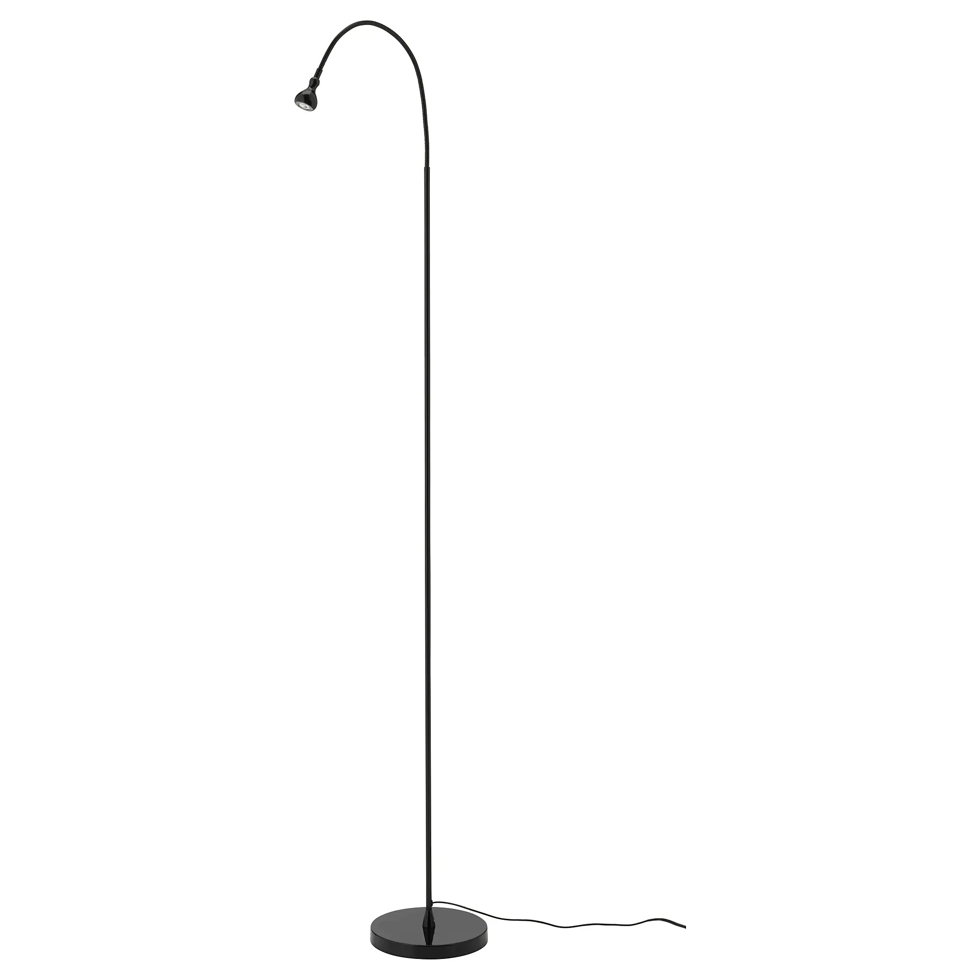 Leeslampje Kind JansjÖ Led Floor Read Lamp Black