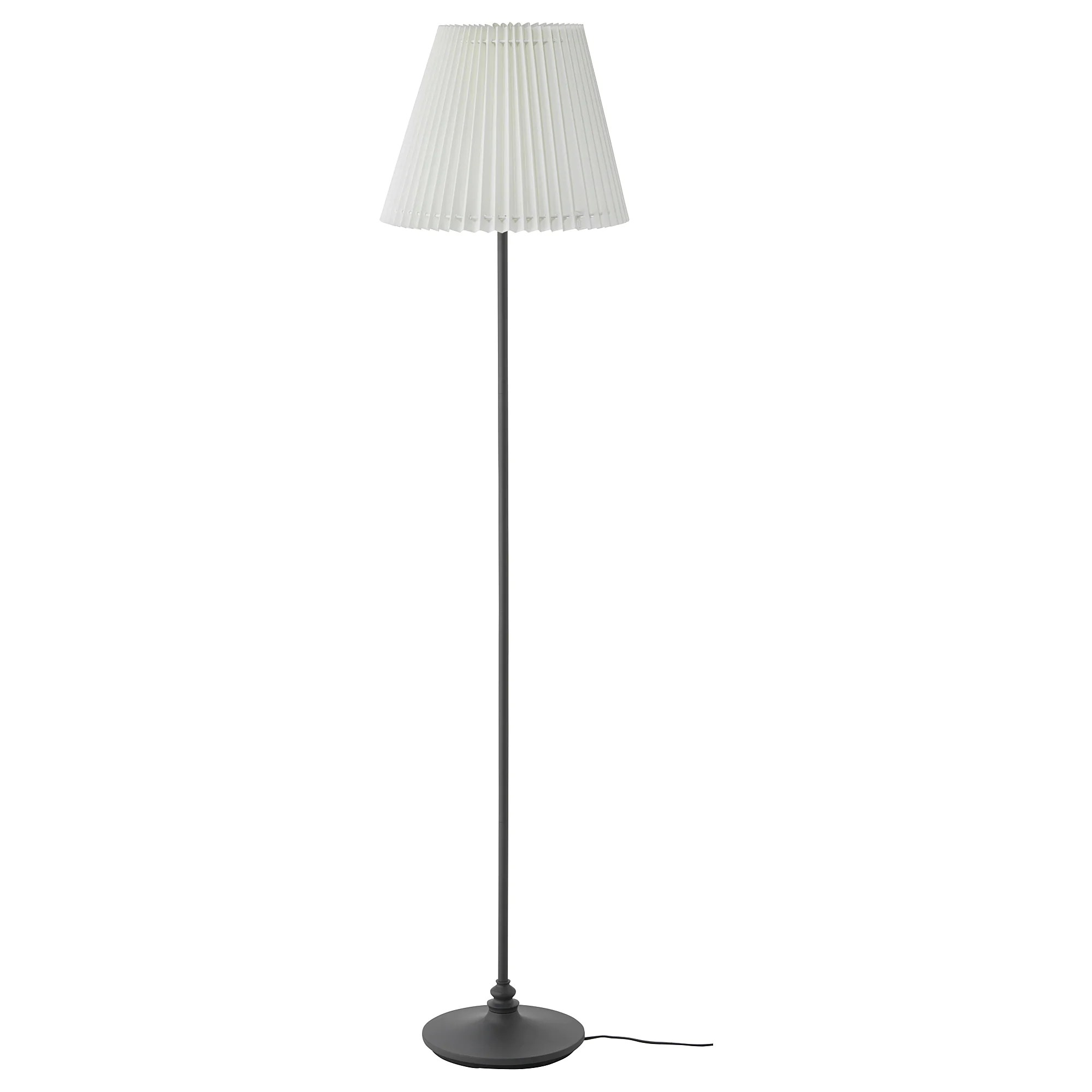 Led White Ängland Floor Lamp With Led Bulb White