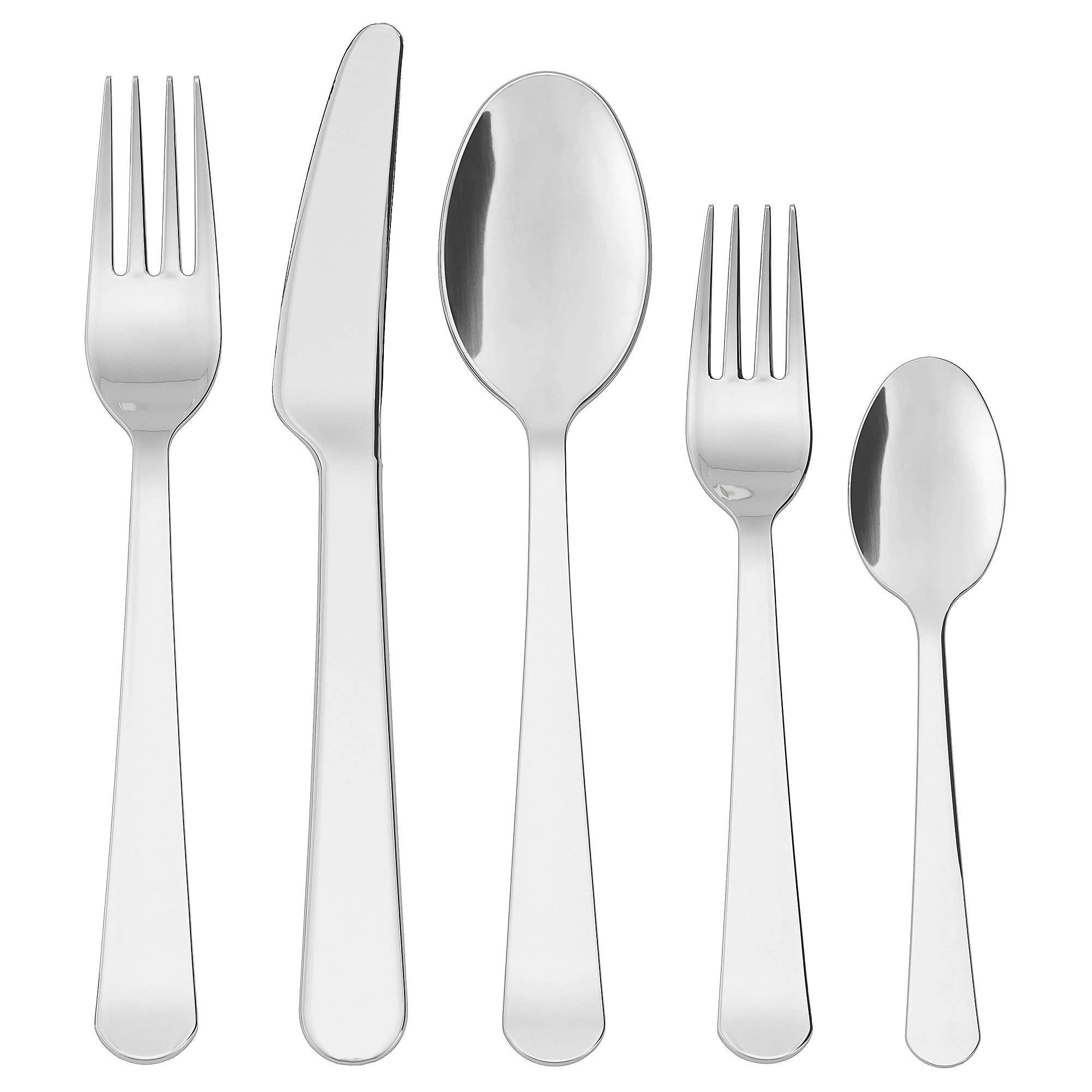 Discount Stainless Flatware Dragon 20 Piece Flatware Set Stainless Steel