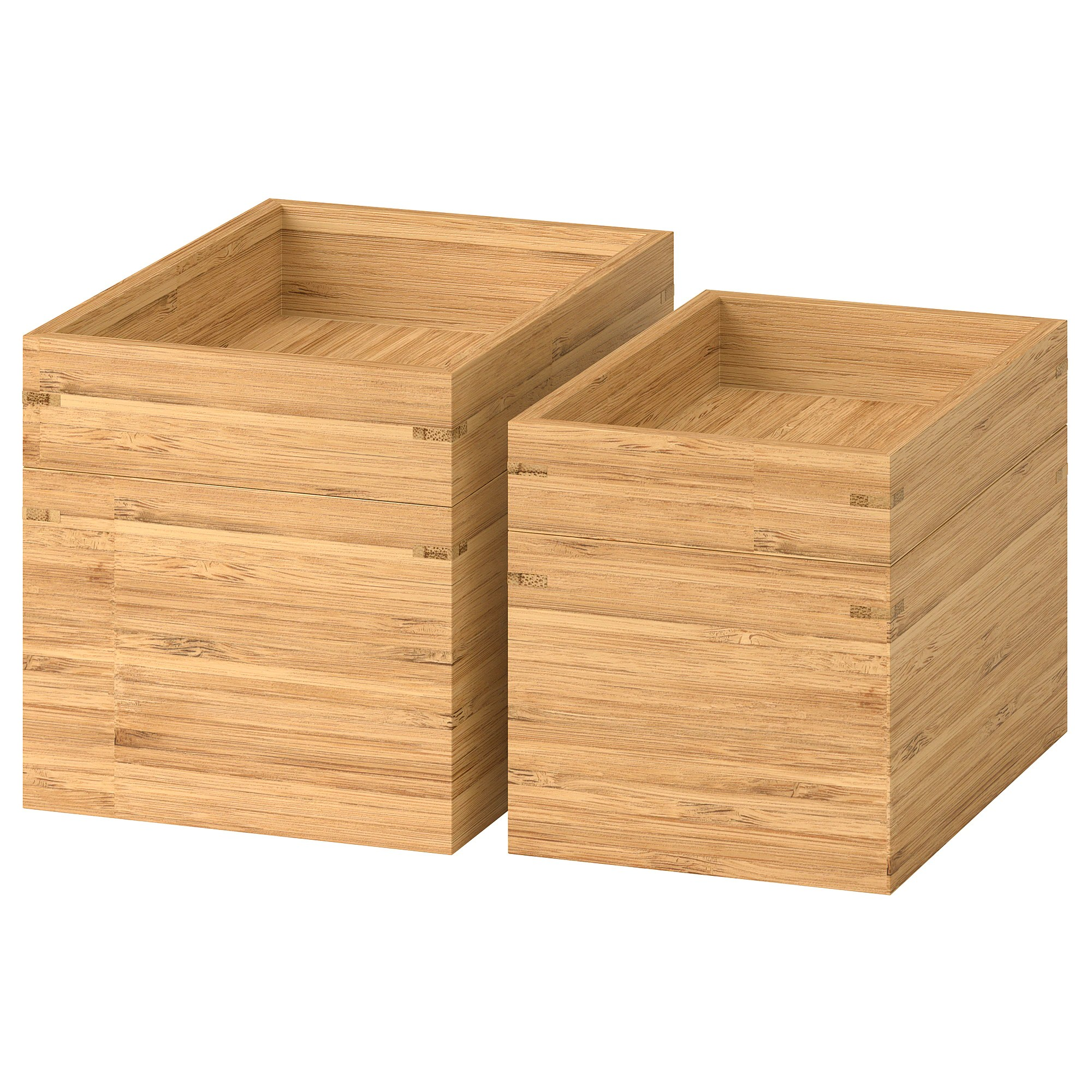 Badezimmer Box Dragan 4 Piece Bathroom Set Bamboo