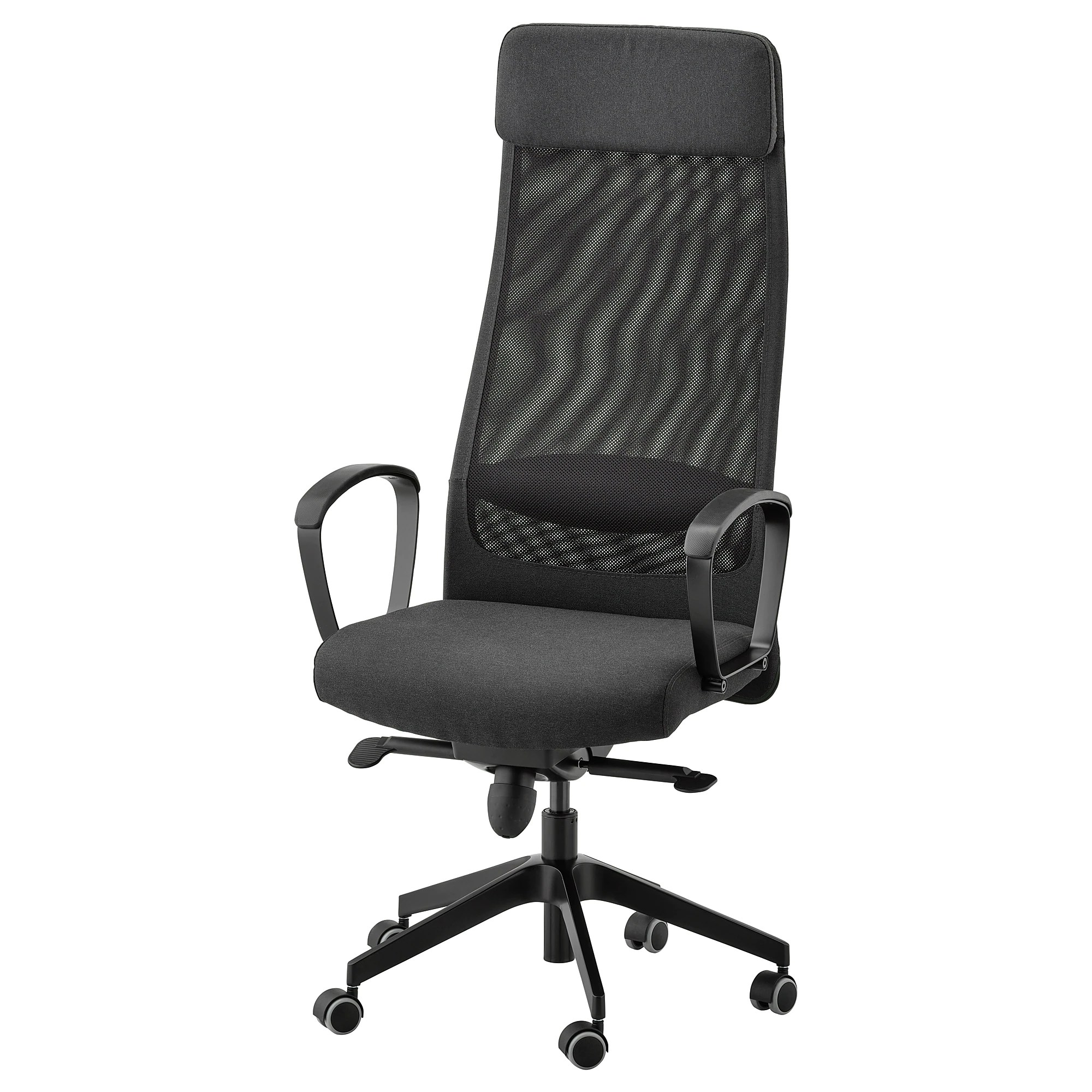 Chairs Comfortable Markus Office Chair Vissle Dark Gray