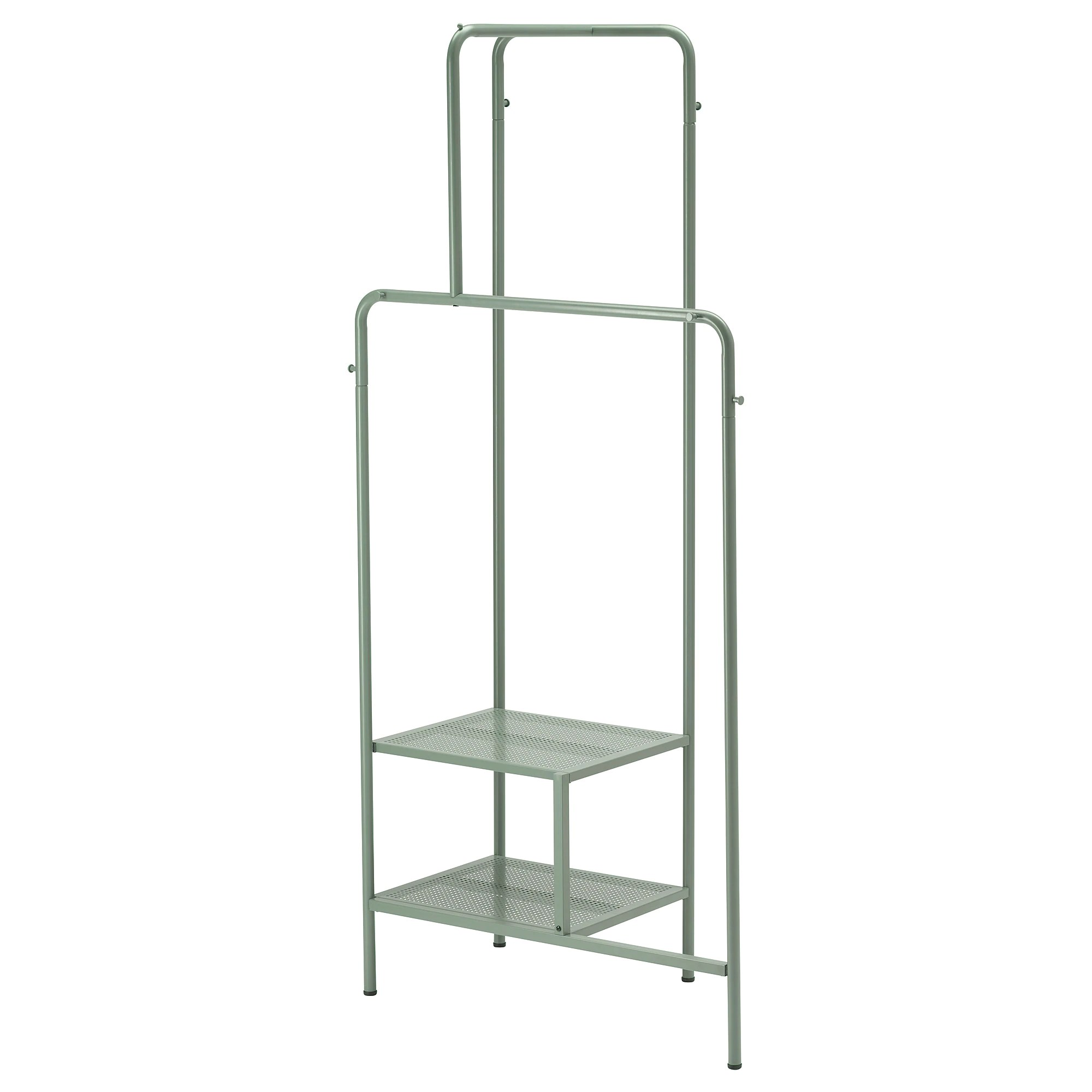 Ikea Wardrobe Leaning To One Side Clothes Rack Nikkeby Gray Green