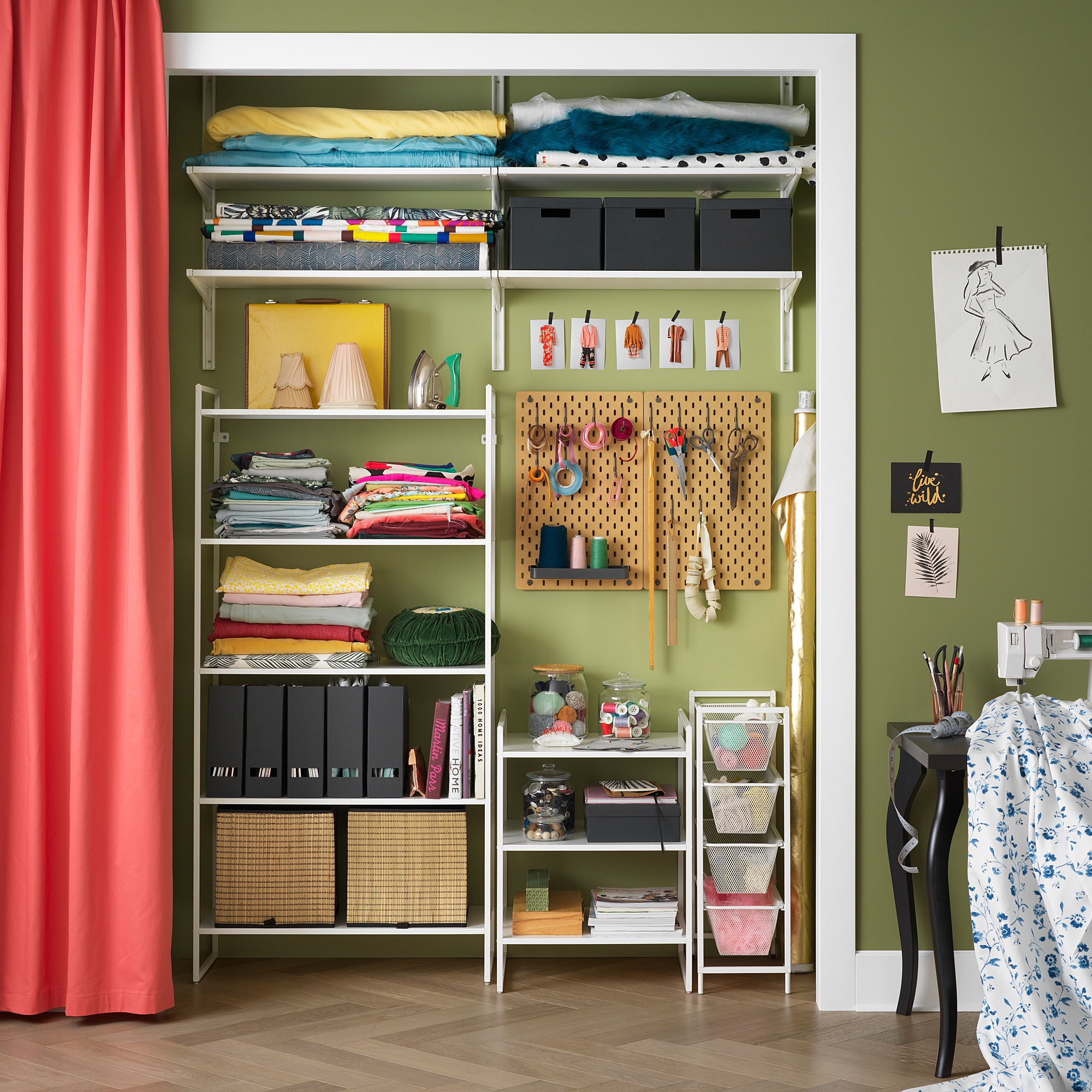 Ikea Wardrobe Tidy Jonaxel Shelving Unit