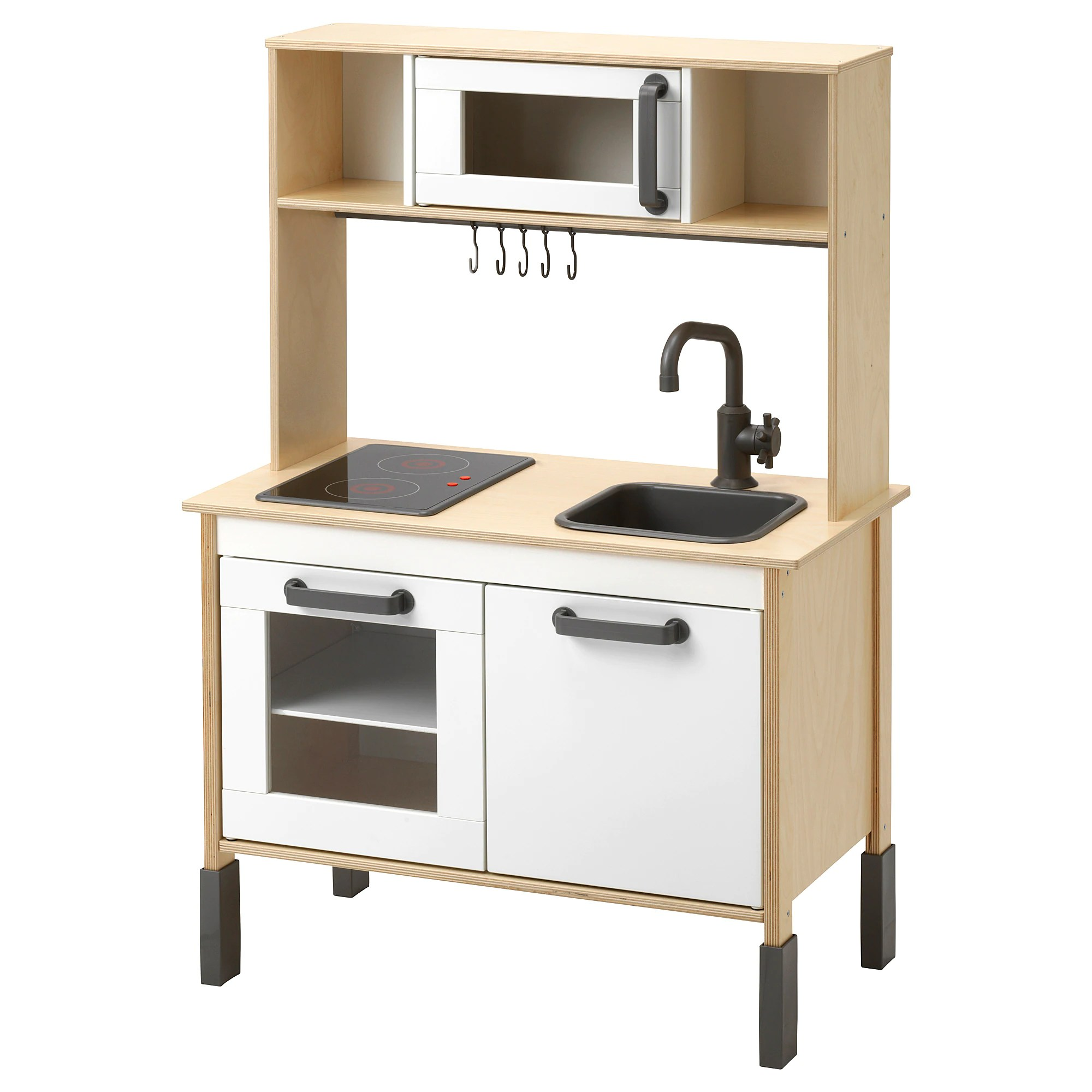 Cuisine Dinette Ikea Duktig Play Kitchen Birch