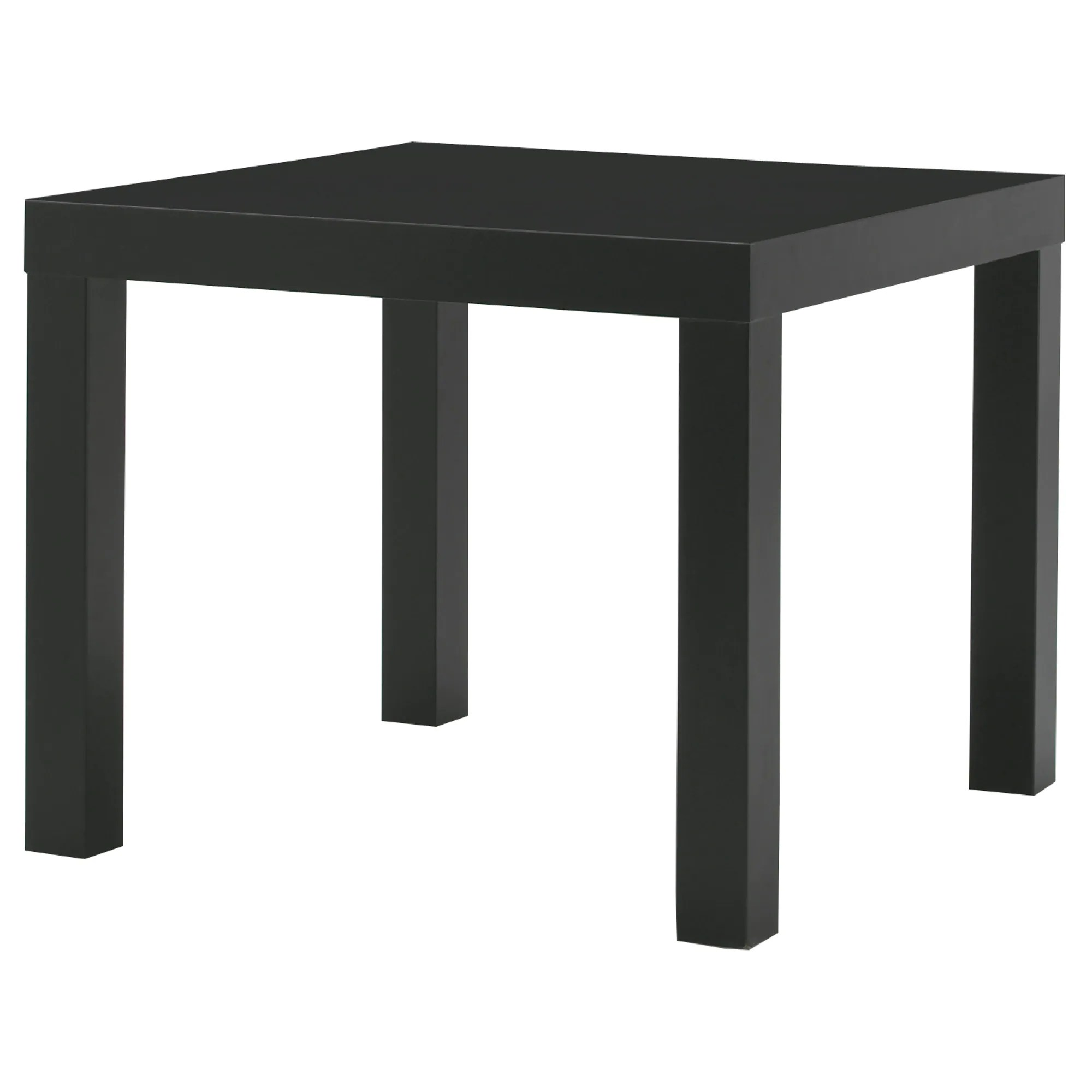 Ikea Table Lack Side Table Black