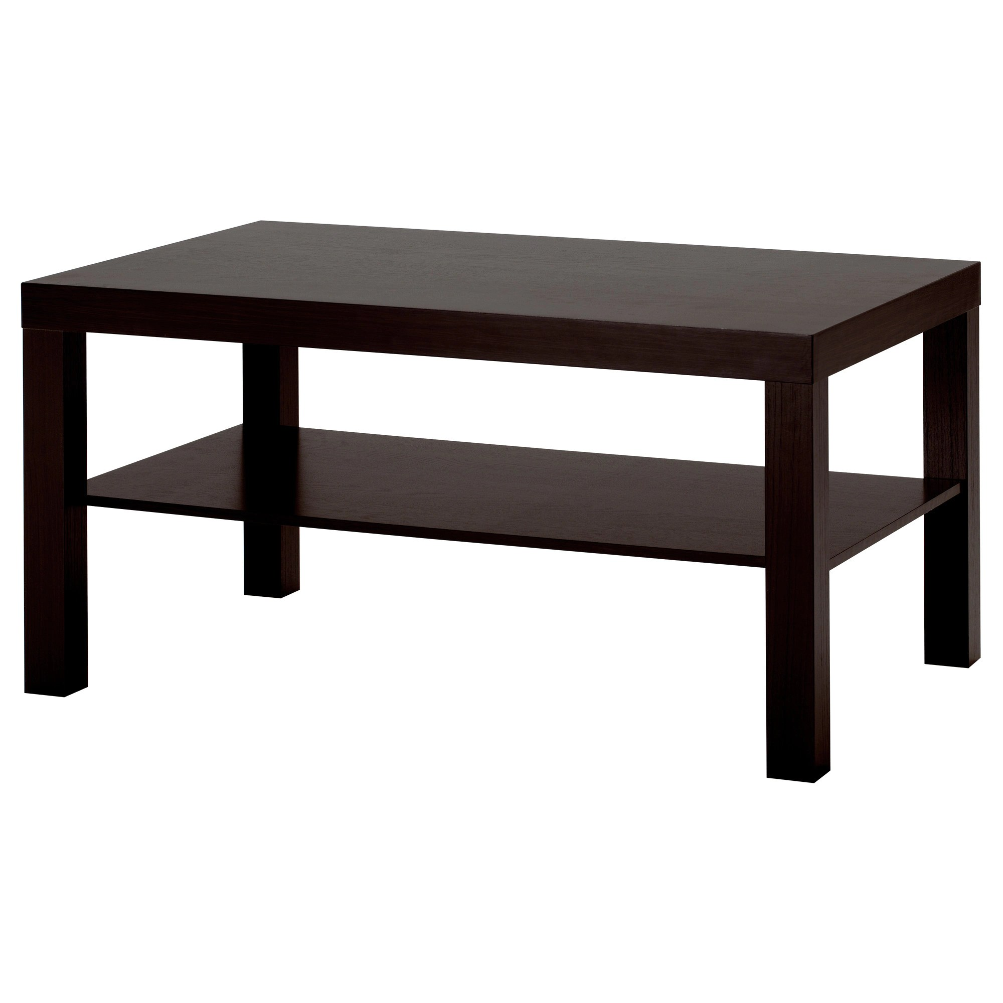 Ikea Table Lack Coffee Table Black Brown