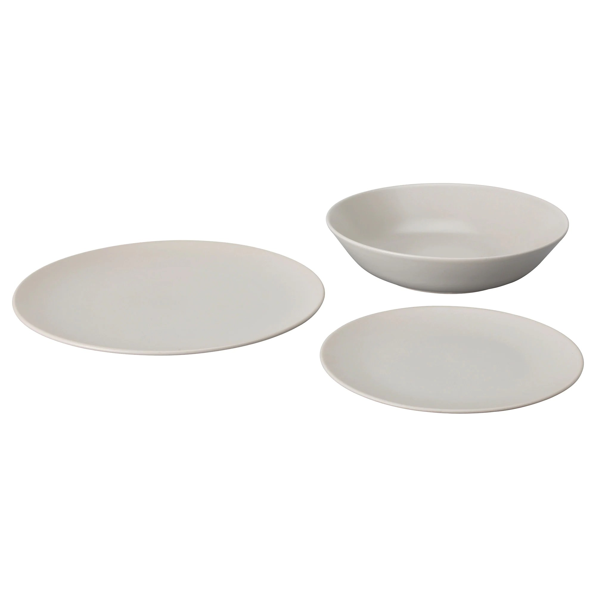 Ikea Vaisselle Porcelaine Set Assiettes Ikea Table De Lit