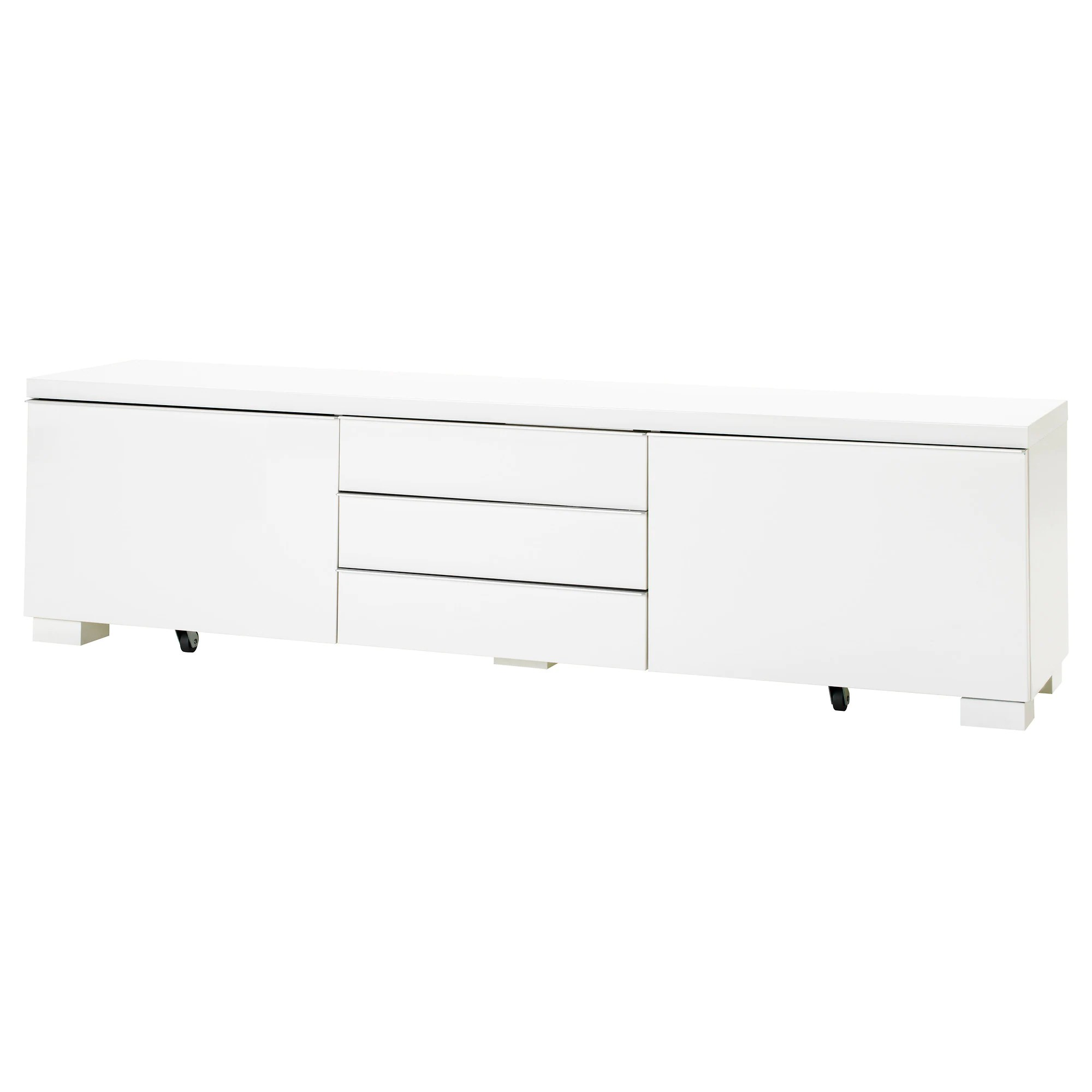 Ikea Tv Sideboard BestÅ Burs Tv Meubel Hoogglans Wit