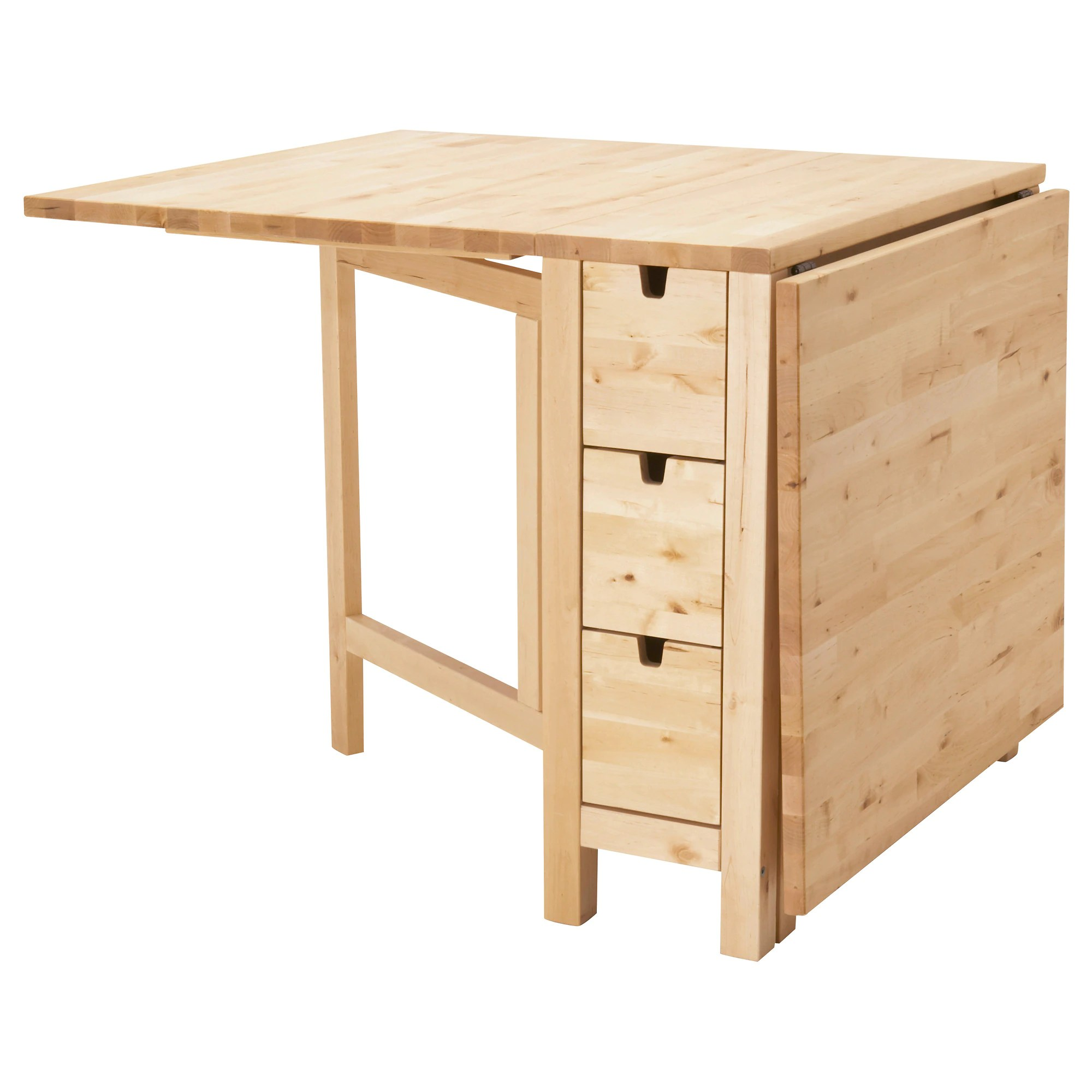 Mesa Norden Ikea Norden Gateleg Table Birch