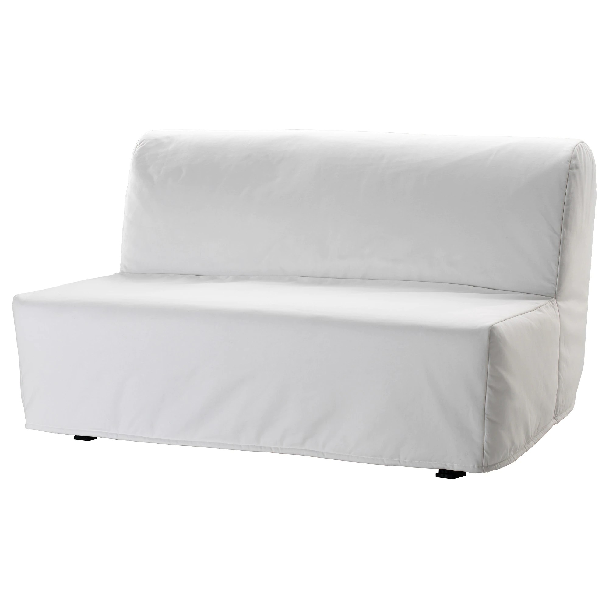 2 Seater Ikea Sofa Cover Lycksele LÖvÅs Sleeper Sofa Ransta White