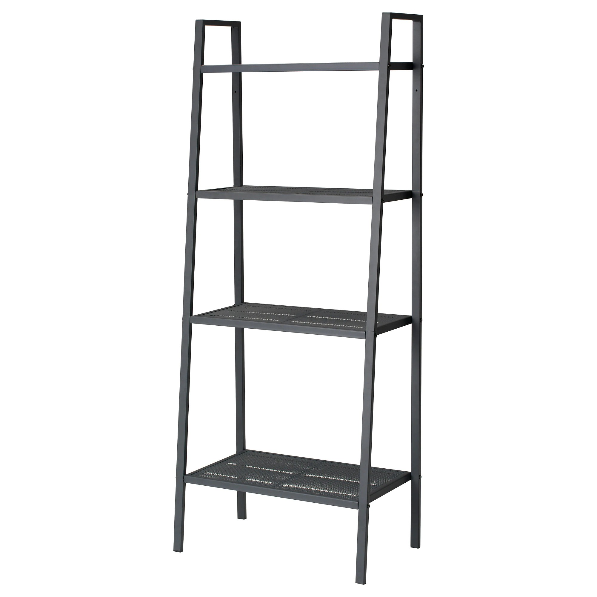 Etagere Dvd Ikea Lerberg Shelf Unit Dark Grey