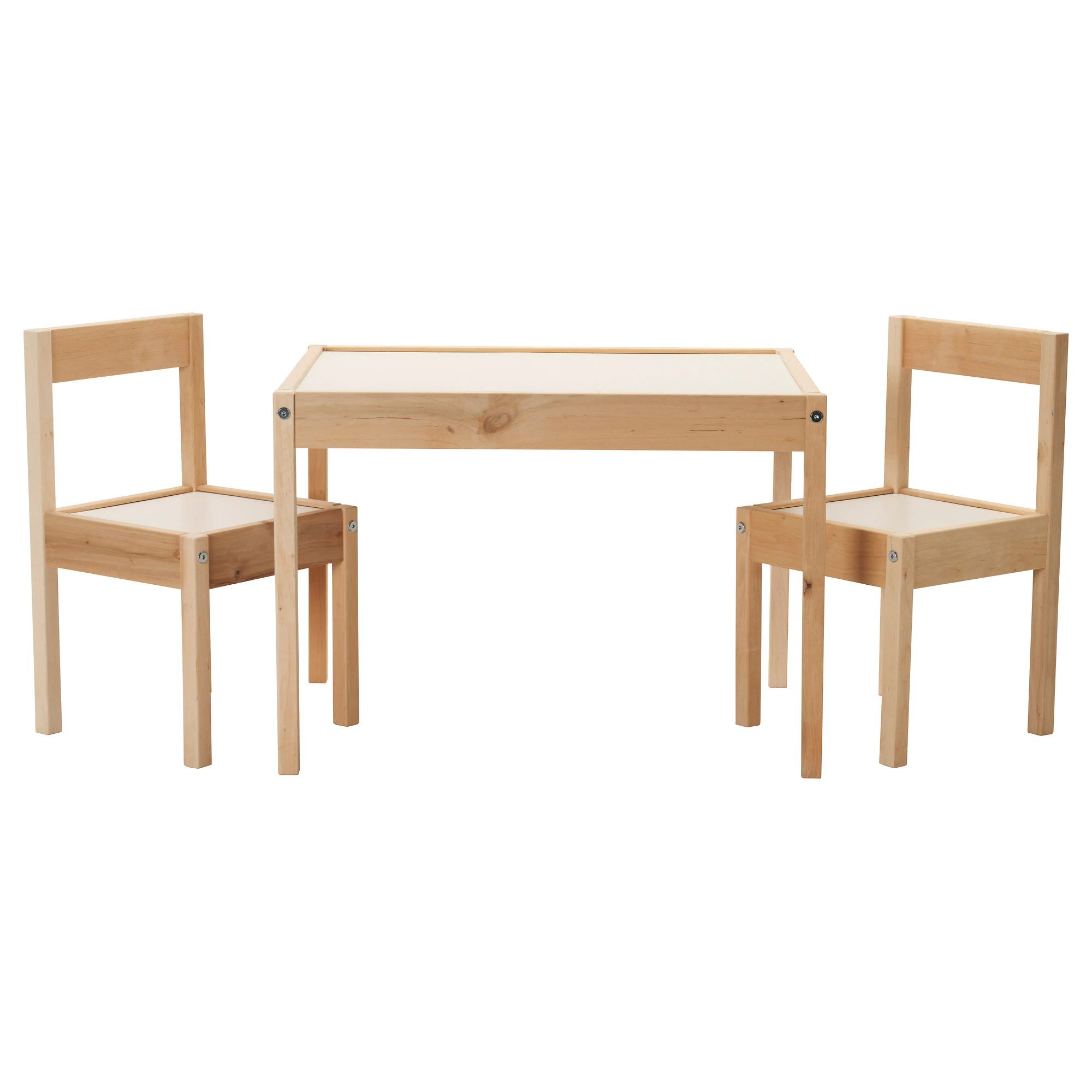 Ikea Küche Kinder Family Card LÄtt Children S Table And 2 Chairs White Pine