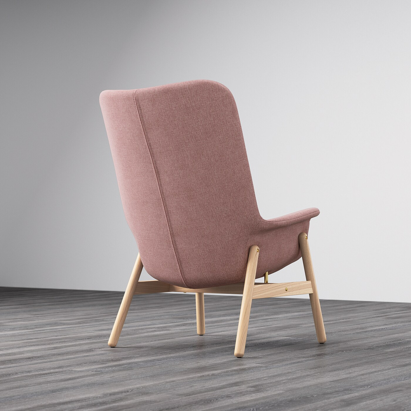 Ikea Sessel Rosa Vedbo Sessel Mit Hoher Rückenlehne - Gunnared Hell