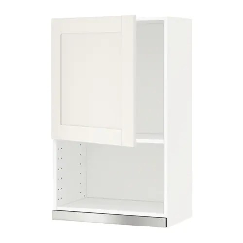 Sävedal Ikea Metod Wall Cabinet For Microwave Oven - Sävedal White