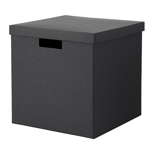 Creative Outdoor Lighting Solutions Tjena Storage Box With Lid - Ikea