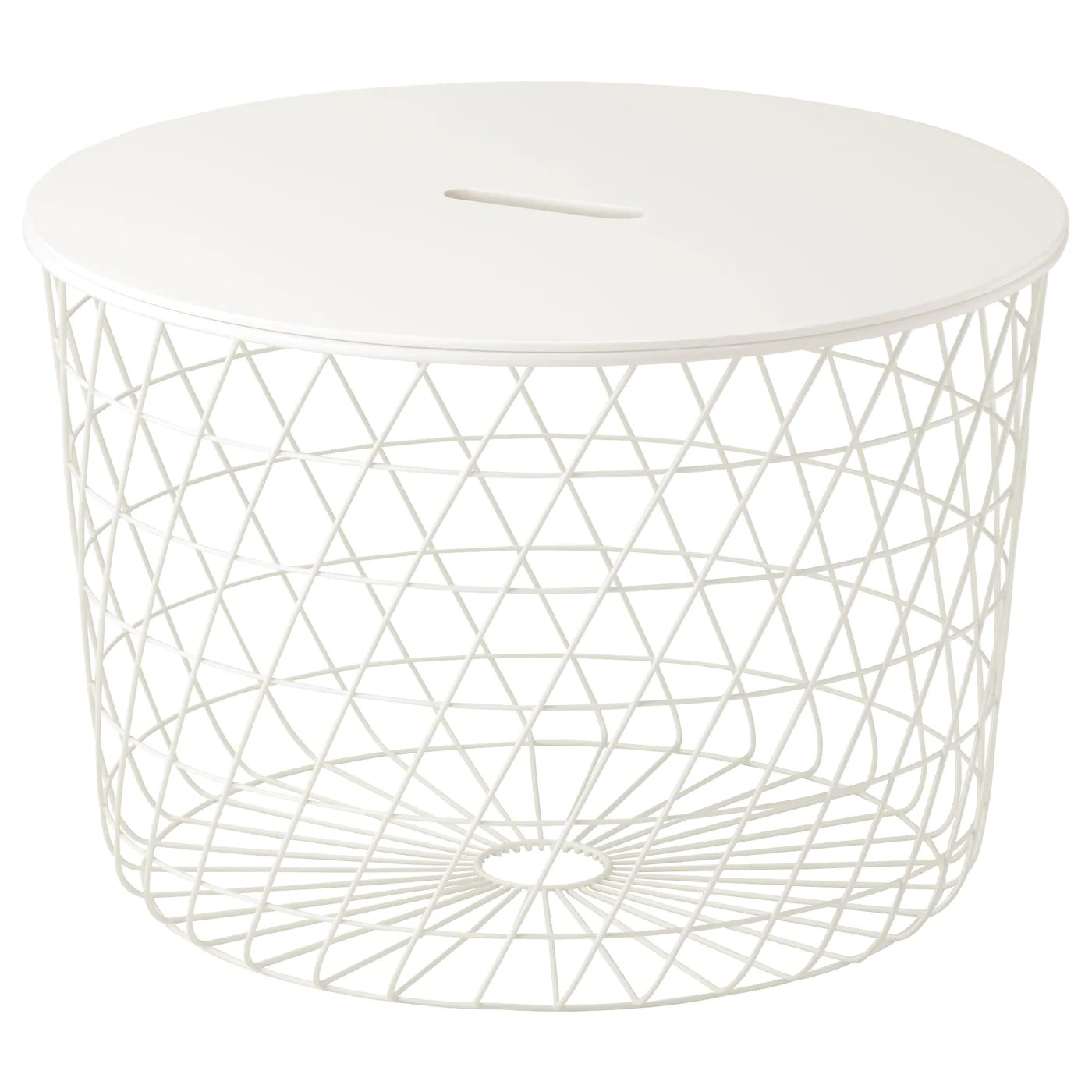 Table Basse Ikea Ronde Kvistbro Table De Rangement Blanc