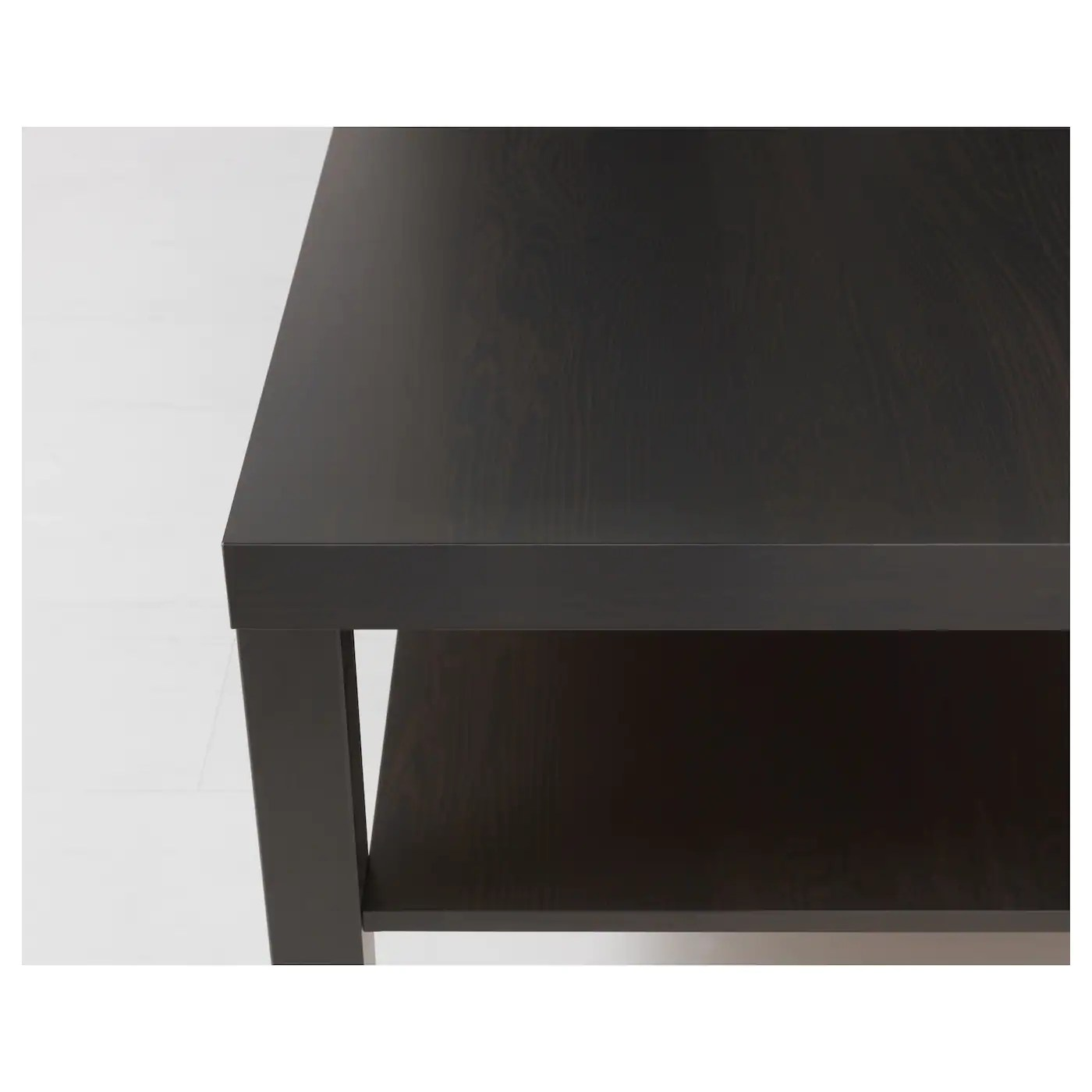 Ikea Table Basse Noir Lack Table Basse Brun Noir 118 X 78 Cm Ikea