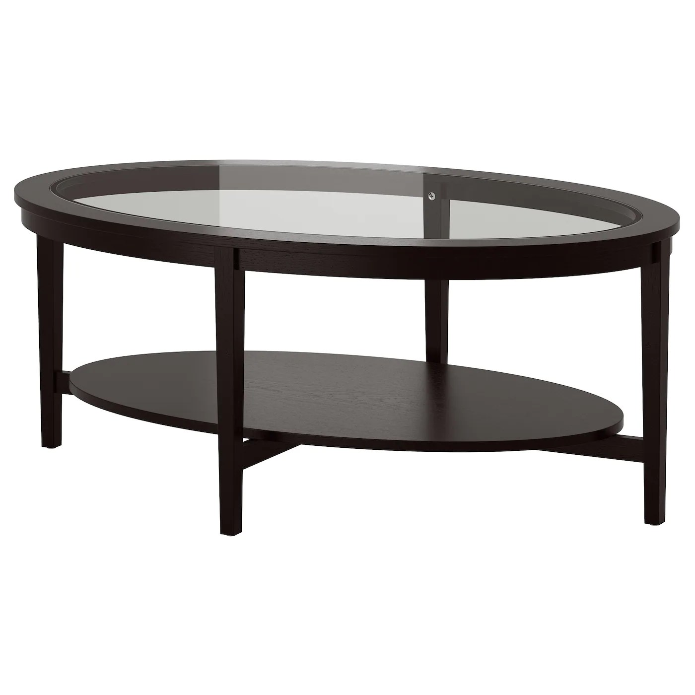 Ikea Table Basse Noir Malmsta Table Basse Brun Noir