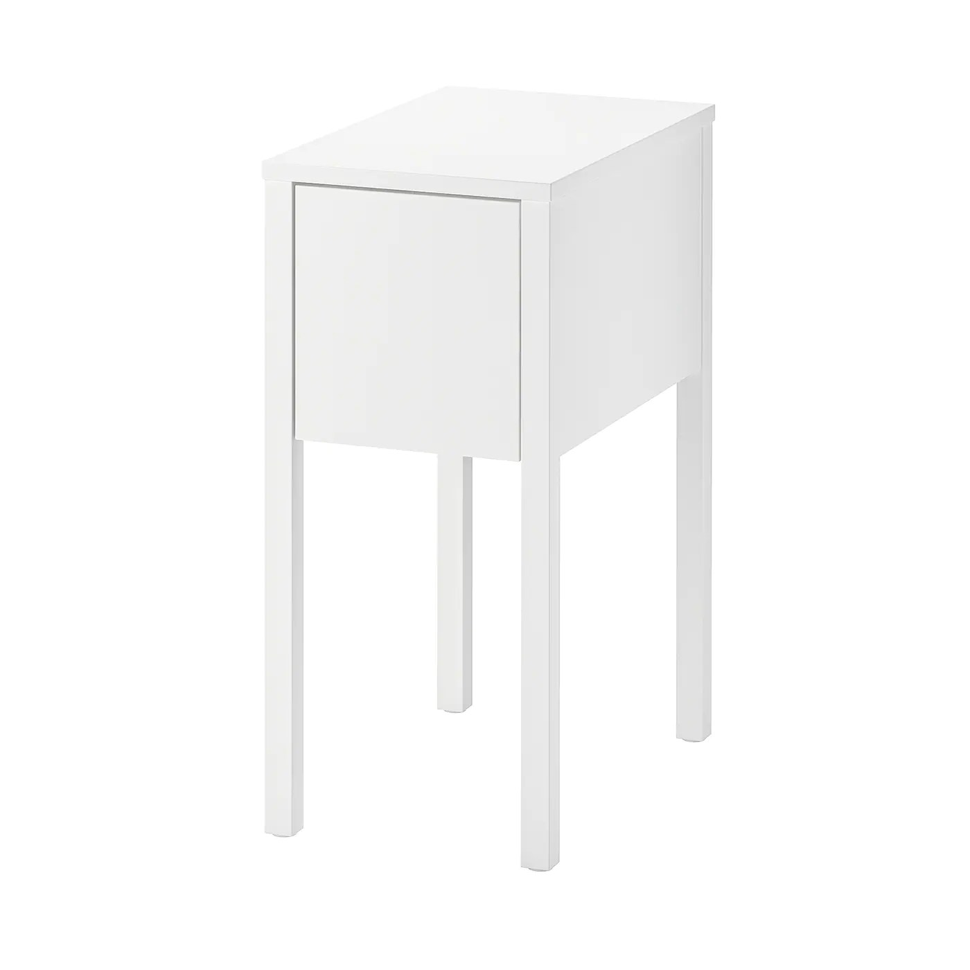 Table De Chevet 30 Cm Nordli Table De Chevet Blanc