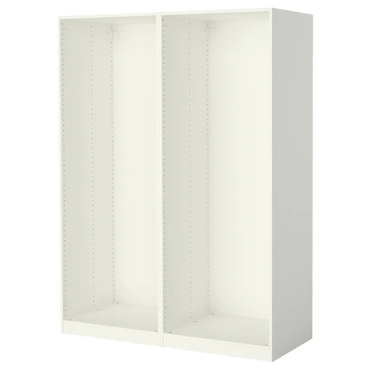 Caissons Dressing Ikea Pax 2 Caissons Armoire Blanc