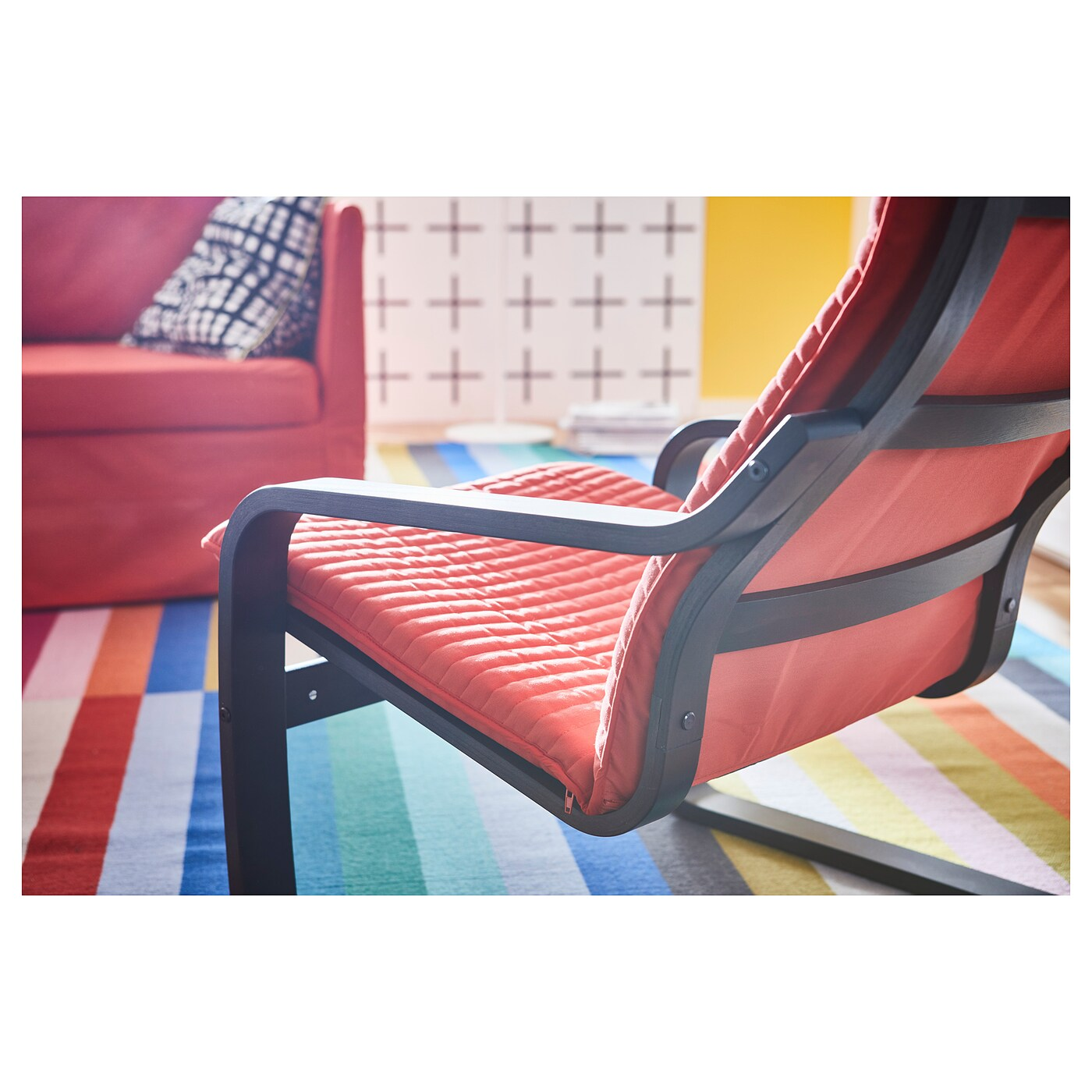 Fauteuil Poang But Fauteuil Ikea Poang Rouge Champagneandbeyond1