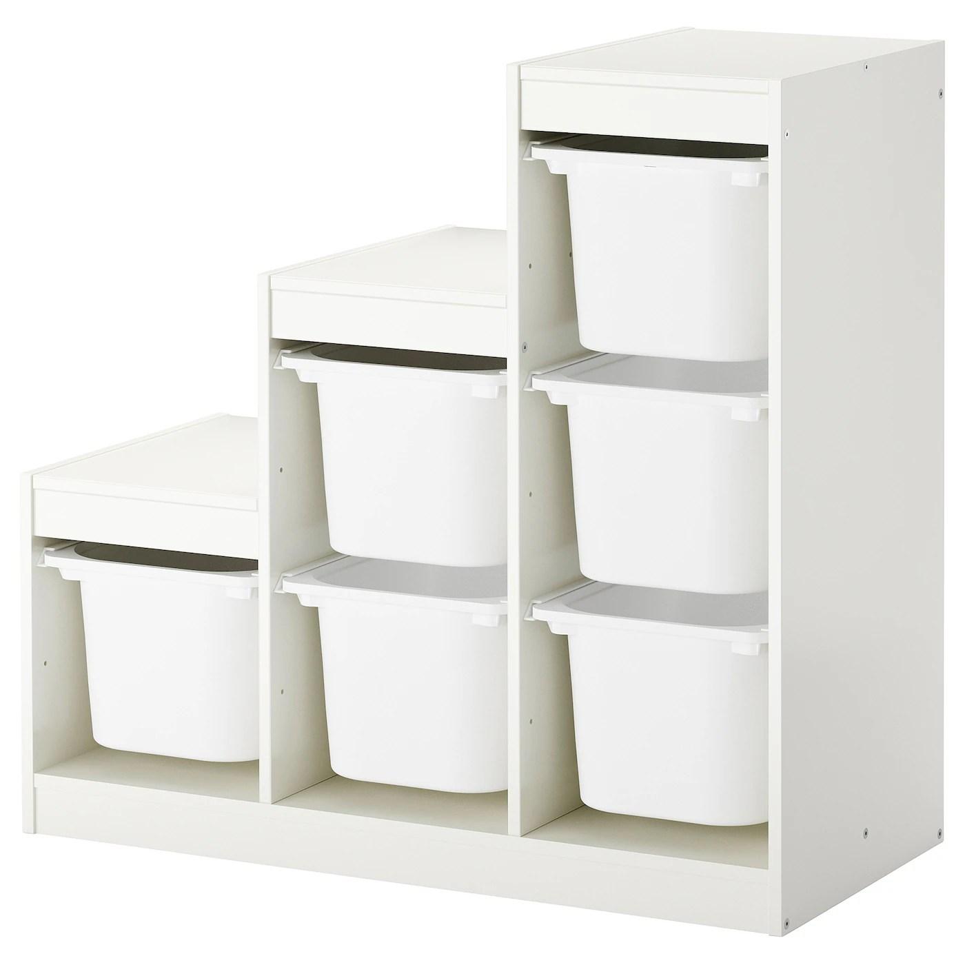 Meuble Rangement Ikea Trofast Under Stairs Storage Ideas