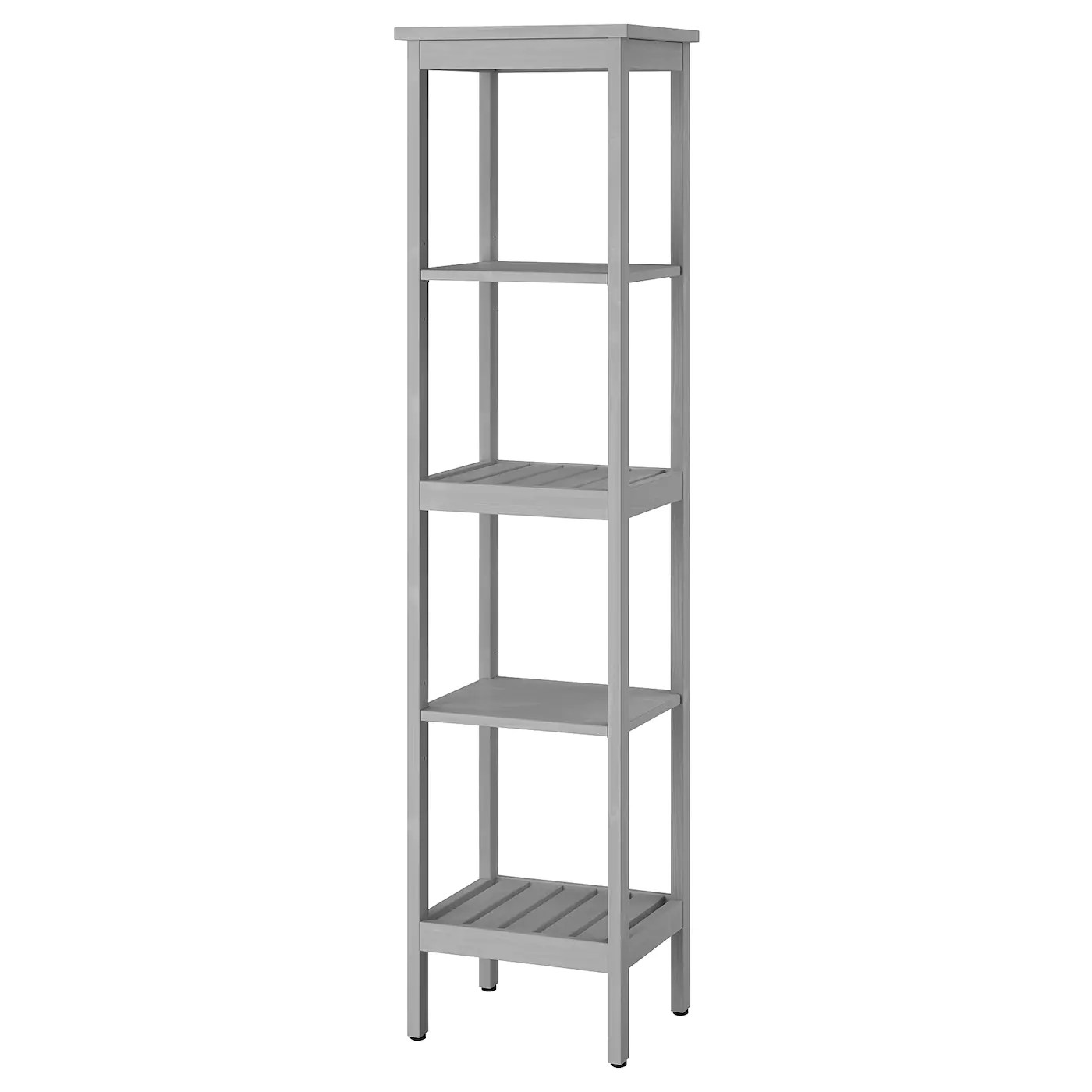 Hemnes Shelf Unit Gray Ikea