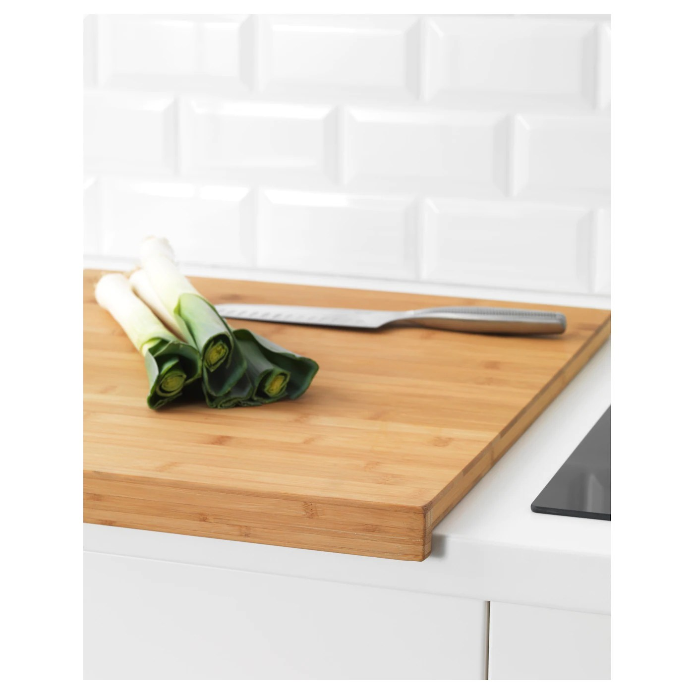 LÄmplig Chopping Board Bamboo 18x20 ¾