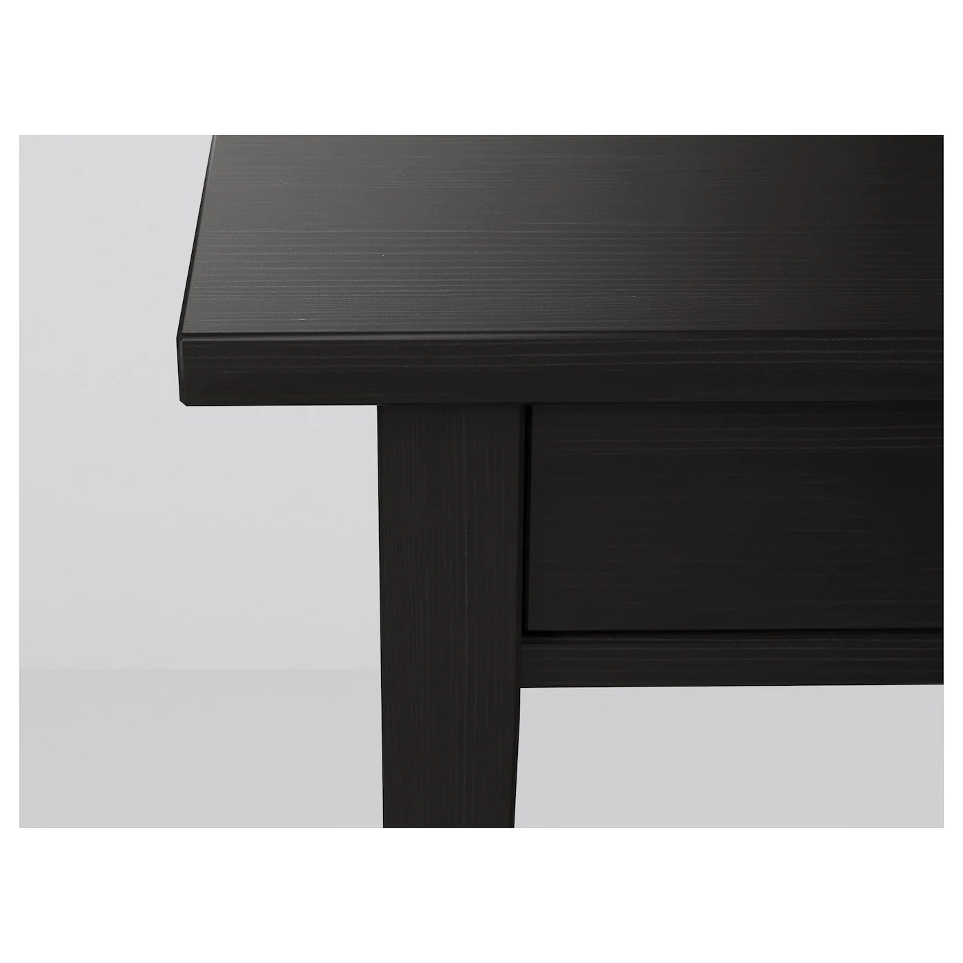 Table De Chevet Noir Ikea Hemnes Table De Chevet Brun Noir