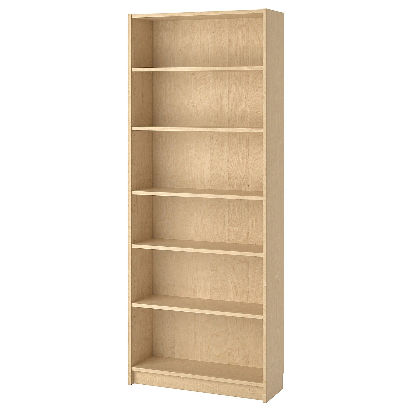 Regal Birke Billy Bücherregal, Birkenfurnier, 80x28x202 Cm - Ikea Deutschland